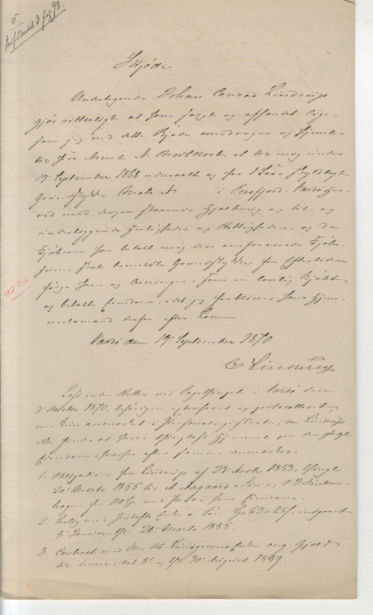 VAMU, Brodtkorb handel A/S, Q/Qb/L0003: Faste eiendommer i Vardø Herred, 1862-1939, p. 77
