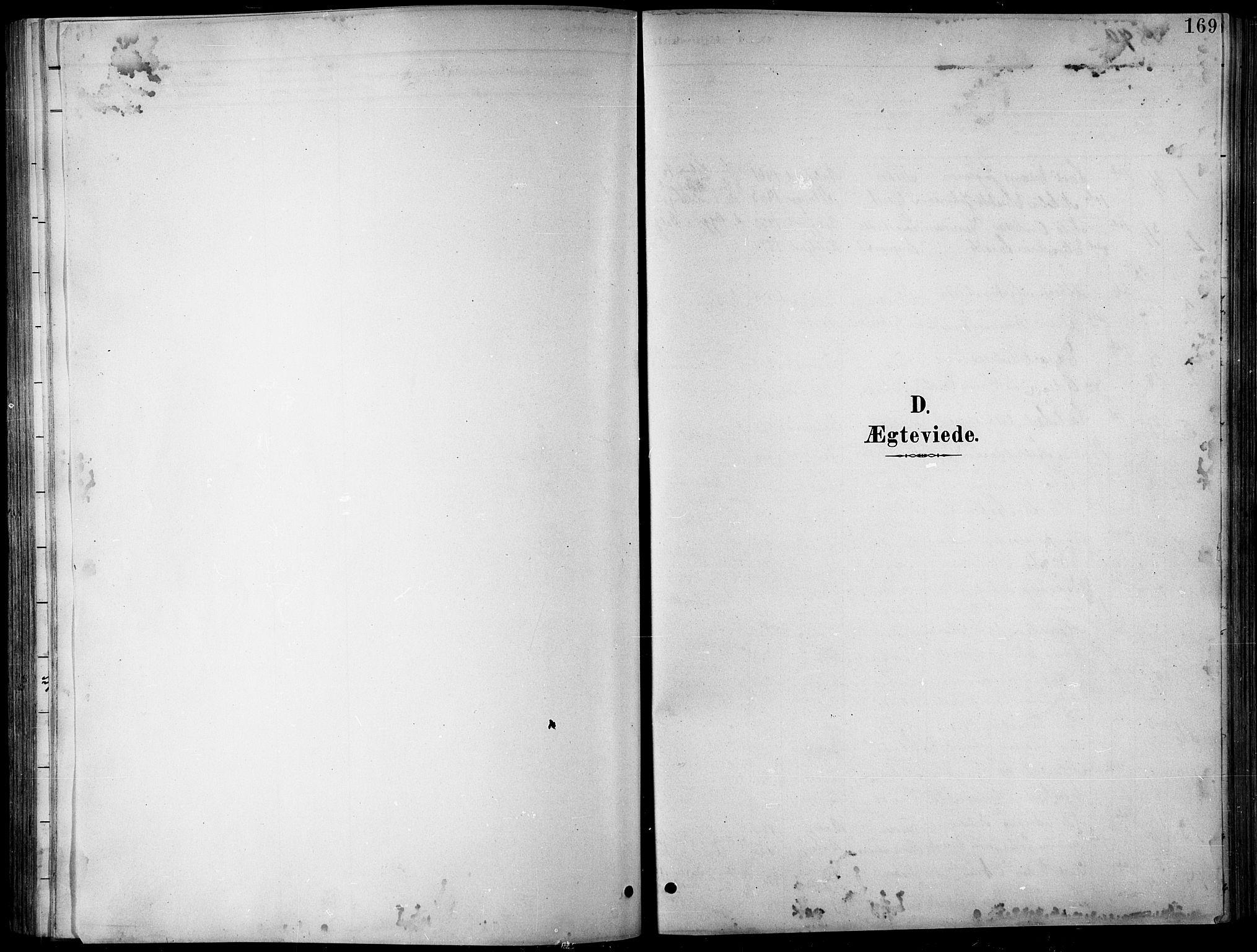 SATØ, Balsfjord sokneprestembete, Parish register (copy) no. 8, 1890-1906, p. 169