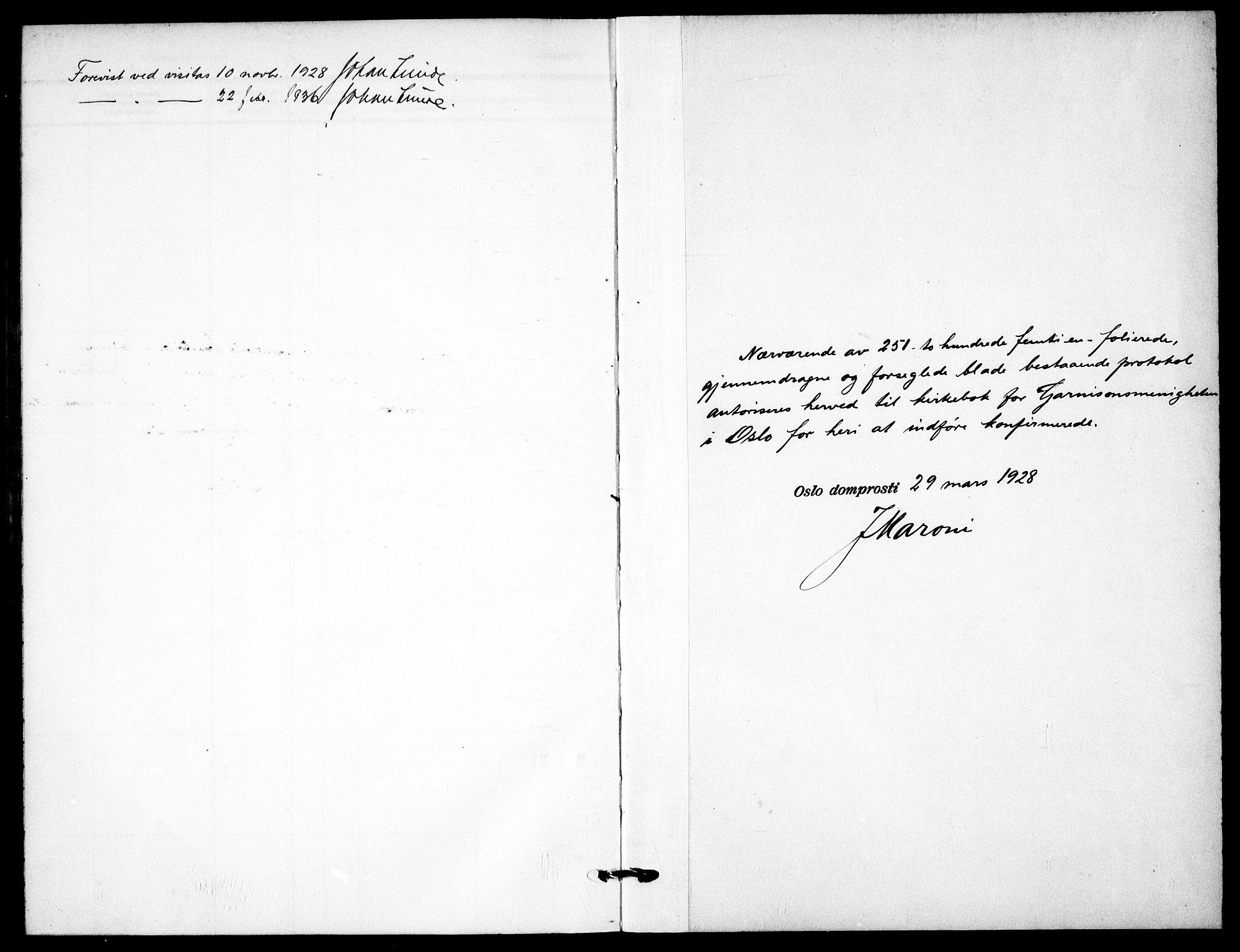 SAO, Garnisonsmenigheten Kirkebøker, F/Fa/L0017: Parish register (official) no. 17, 1926-1937