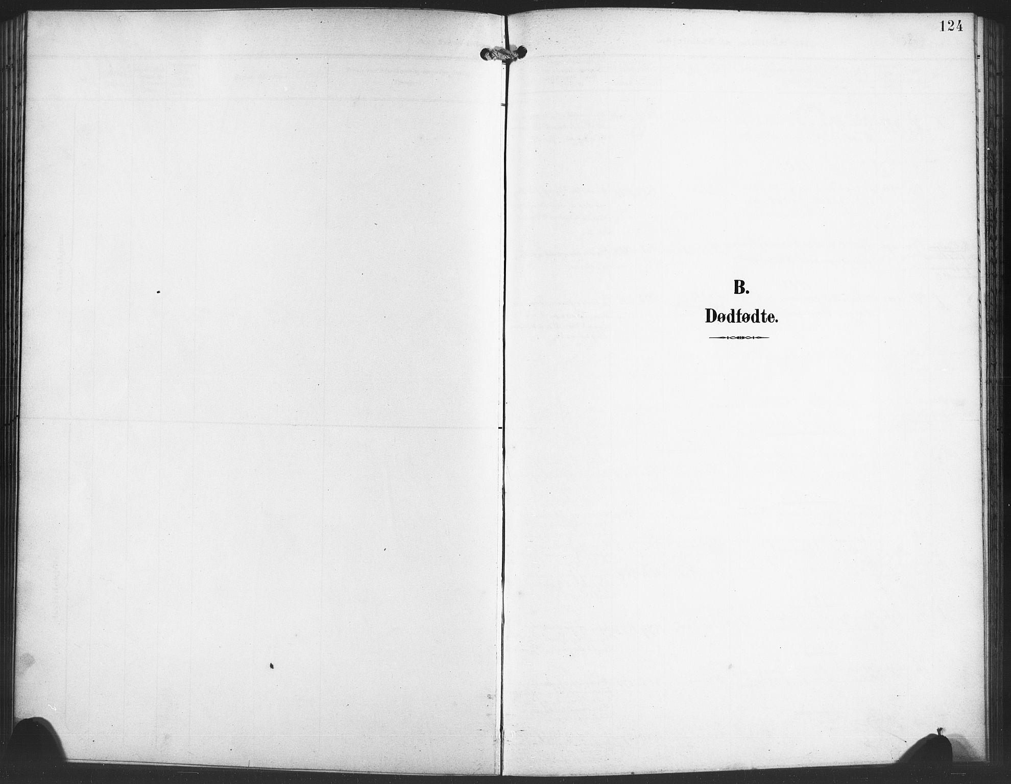SAB, Evanger sokneprestembete*, Parish register (copy) no. A 5, 1897-1917, p. 124