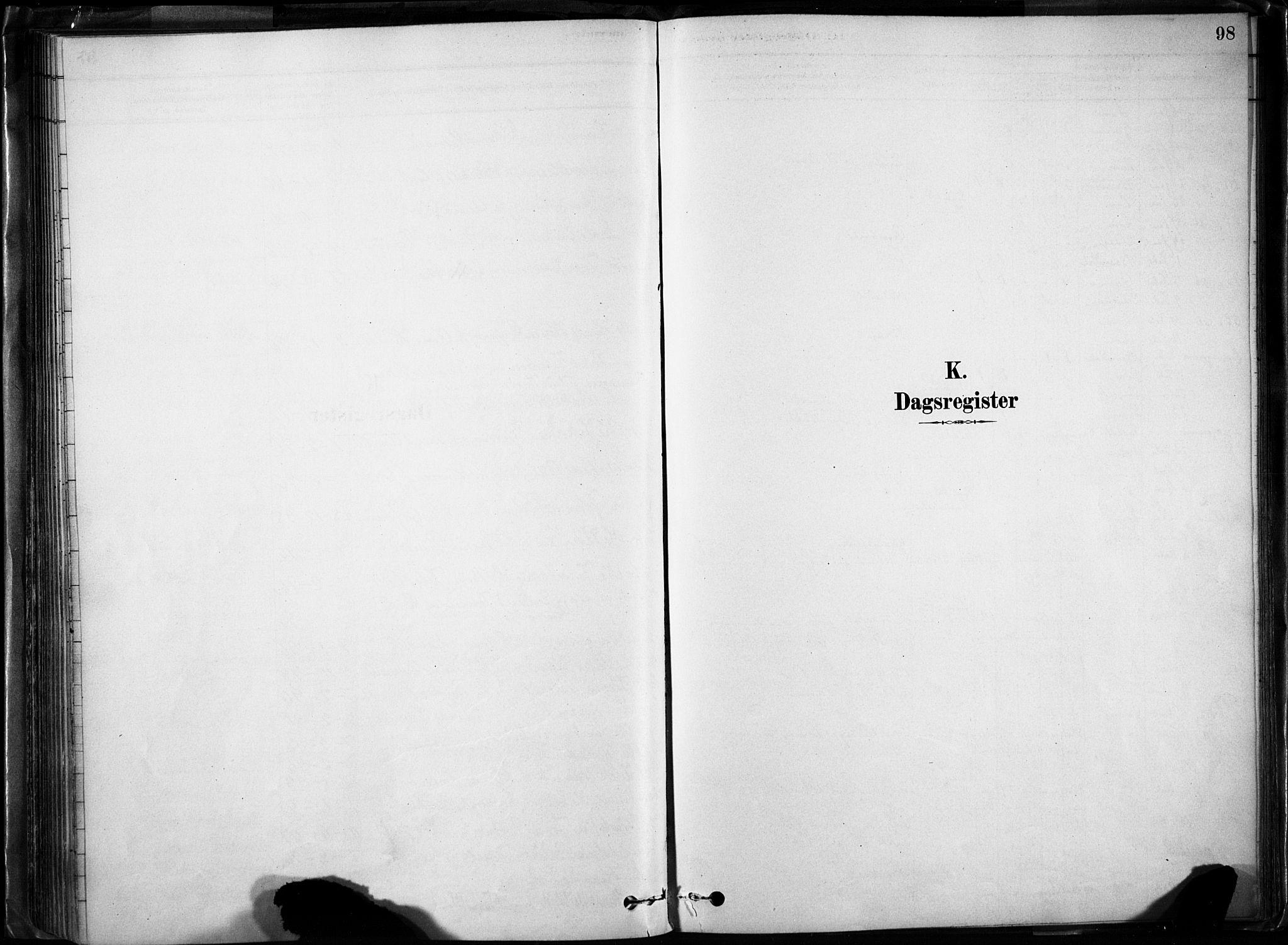 SAH, Lom prestekontor, K/L0009: Parish register (official) no. 9, 1878-1907, p. 98