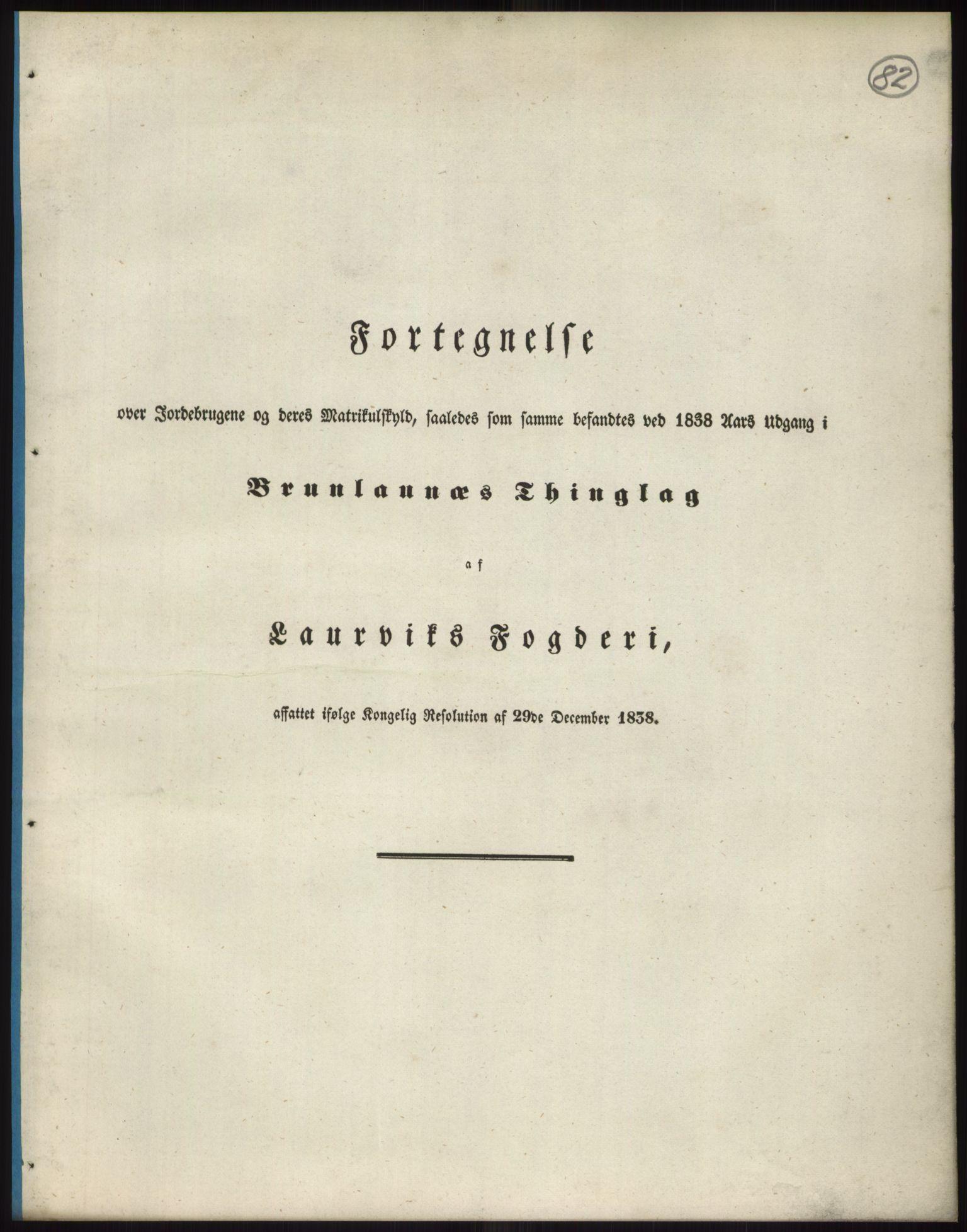 PUBL, Andre publikasjoner, -/Bind 6: Jarlsberg og Larvik amt, 1838, p. 147