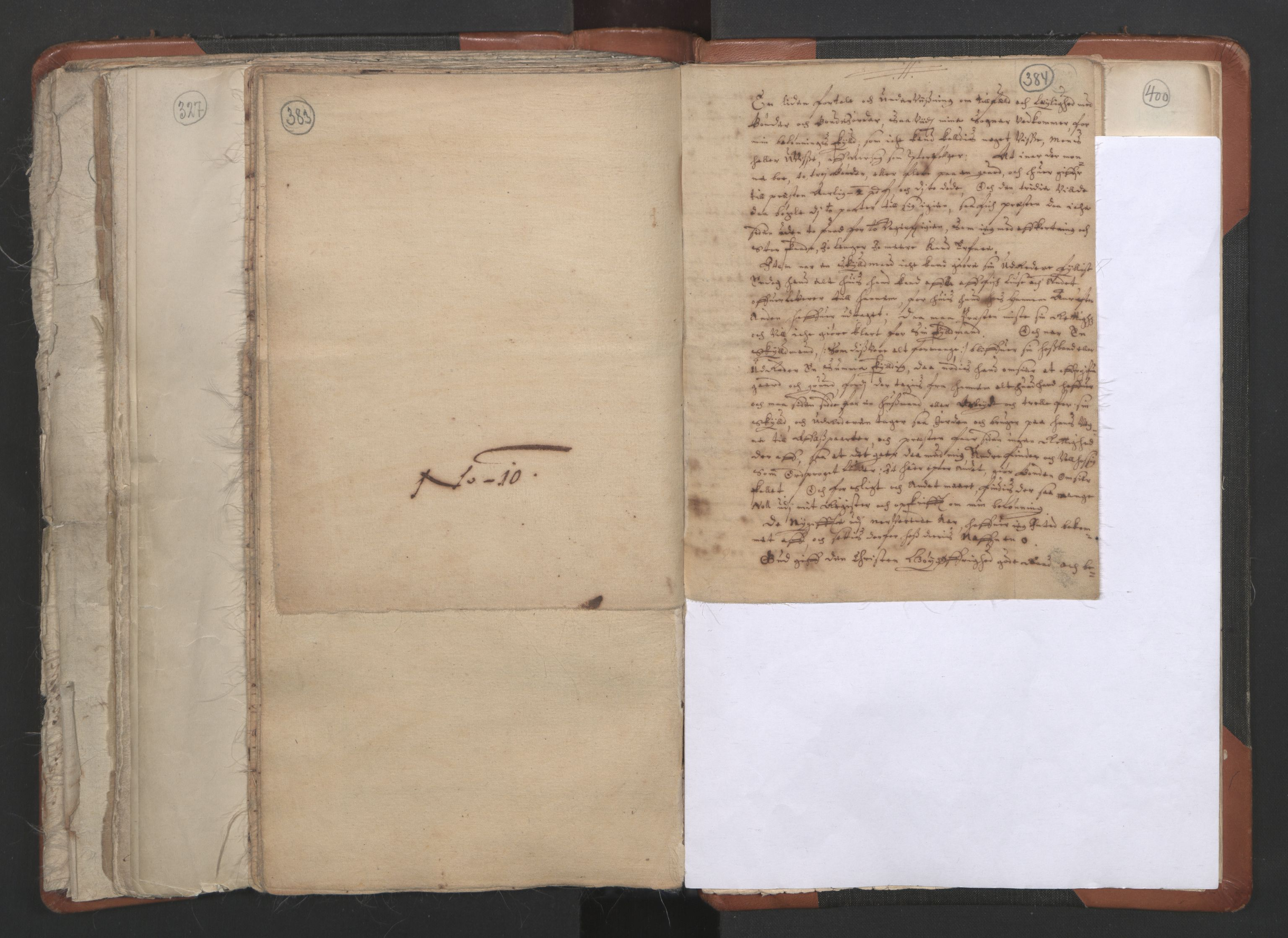 RA, Vicar's Census 1664-1666, no. 36: Lofoten and Vesterålen deanery, Senja deanery and Troms deanery, 1664-1666, p. 383-384