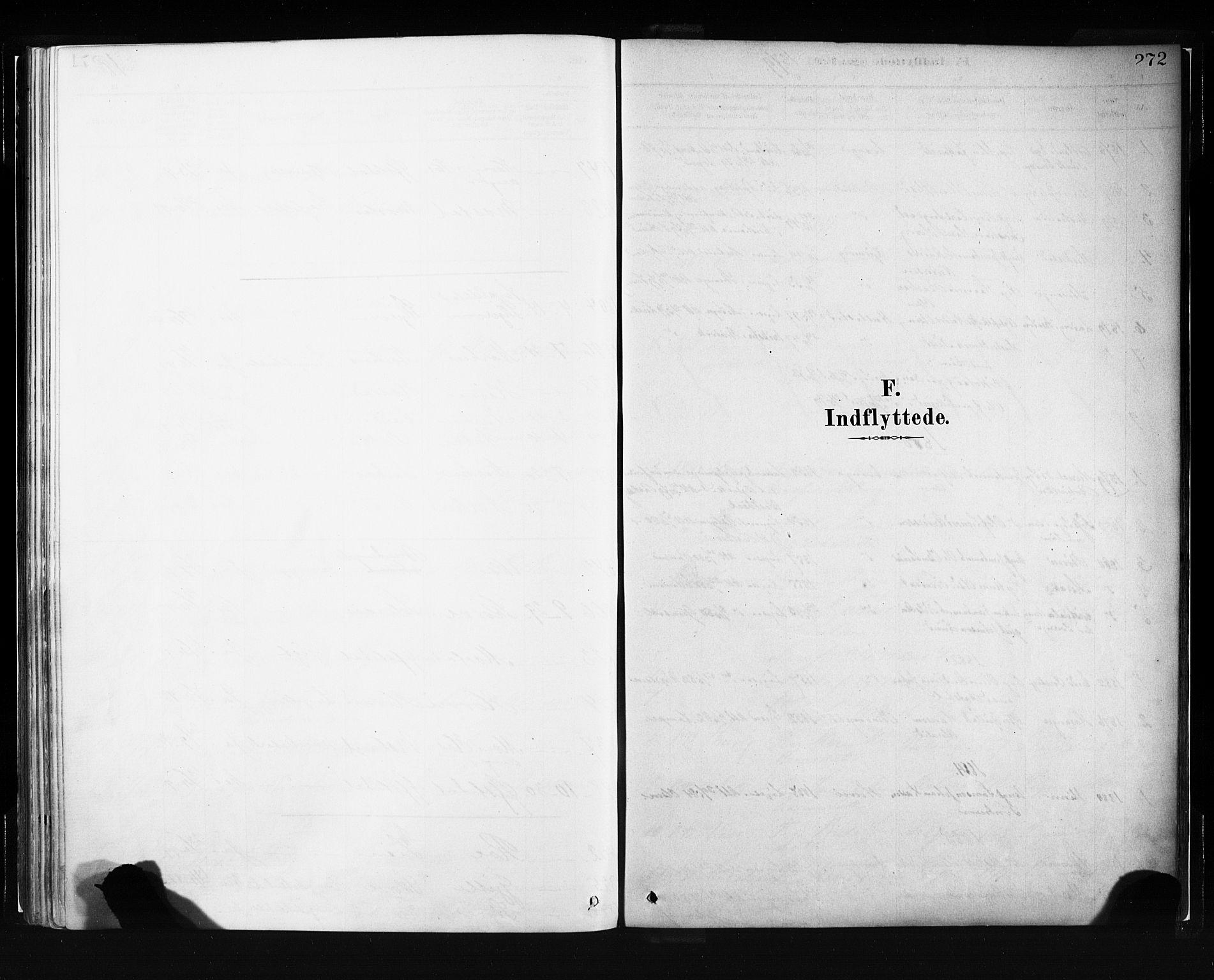 SAB, Evanger sokneprestembete*, Parish register (official) no. A 1, 1877-1899, p. 272