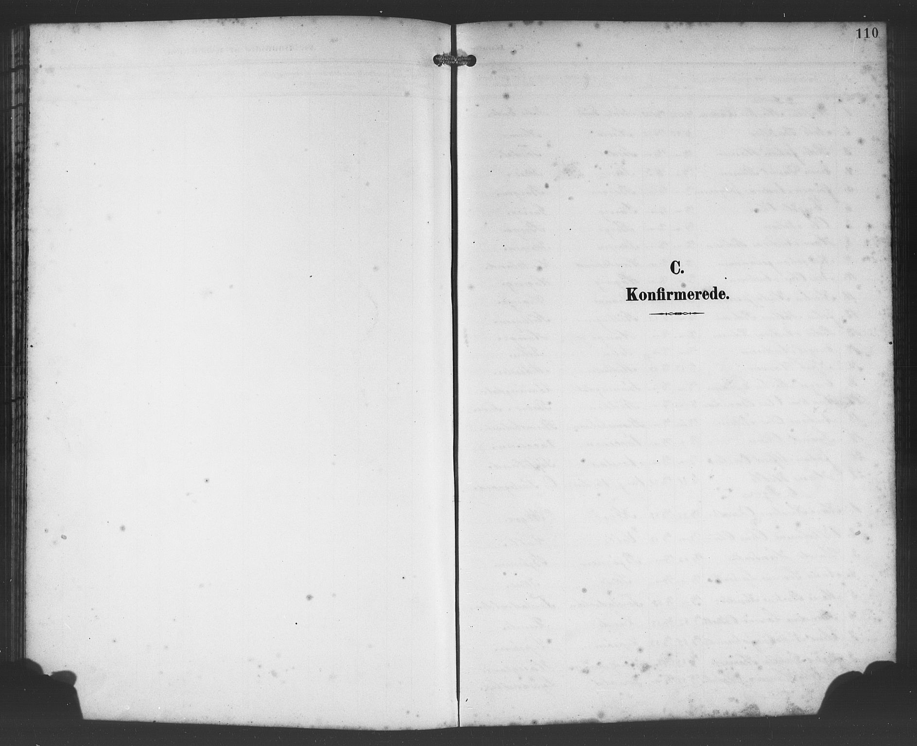 SAB, Os sokneprestembete*, Parish register (copy) no. A 3, 1897-1913, p. 110