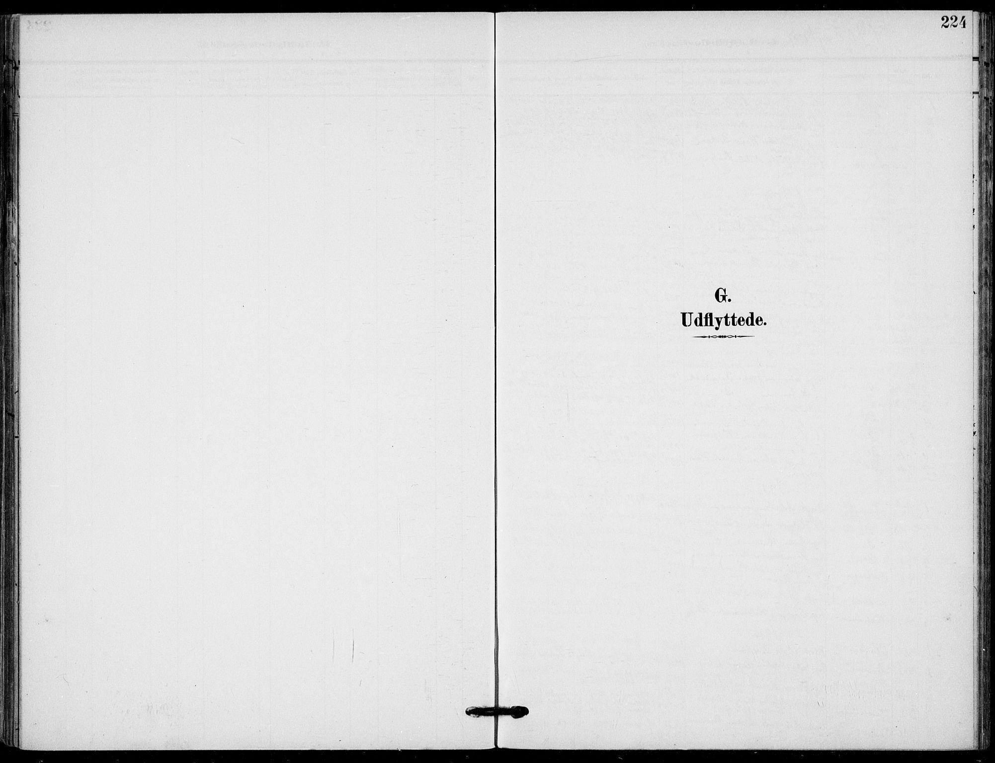 SAKO, Holla kirkebøker, F/Fa/L0012: Parish register (official) no. 12, 1907-1923, p. 224