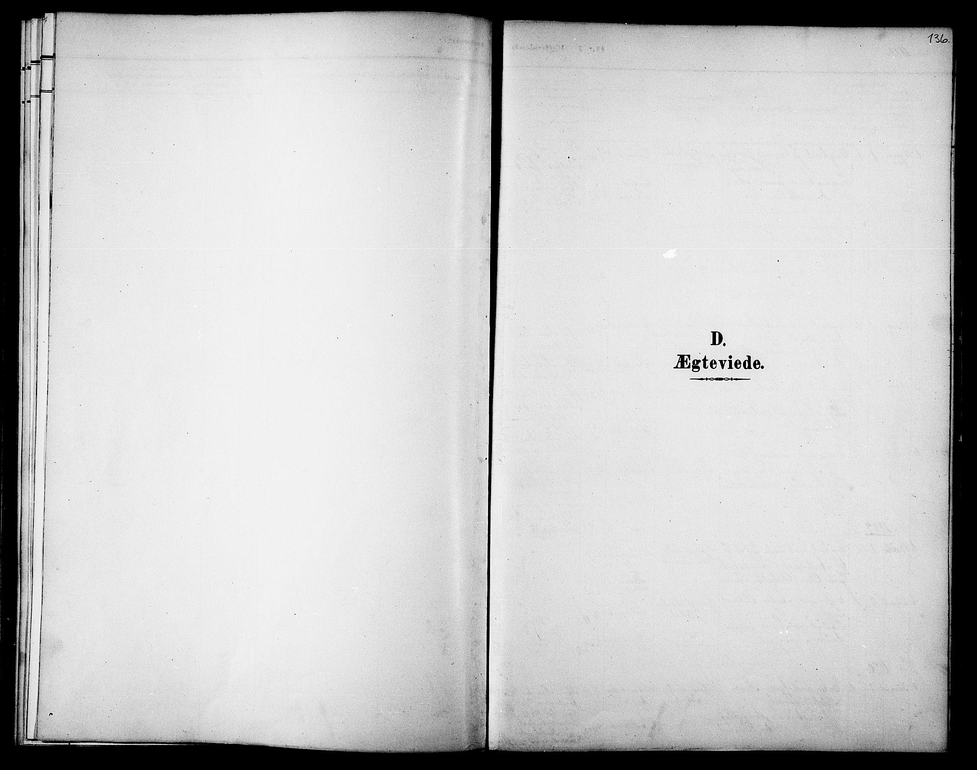SAT, Ministerialprotokoller, klokkerbøker og fødselsregistre - Nord-Trøndelag, 733/L0327: Parish register (copy) no. 733C02, 1888-1918, p. 136