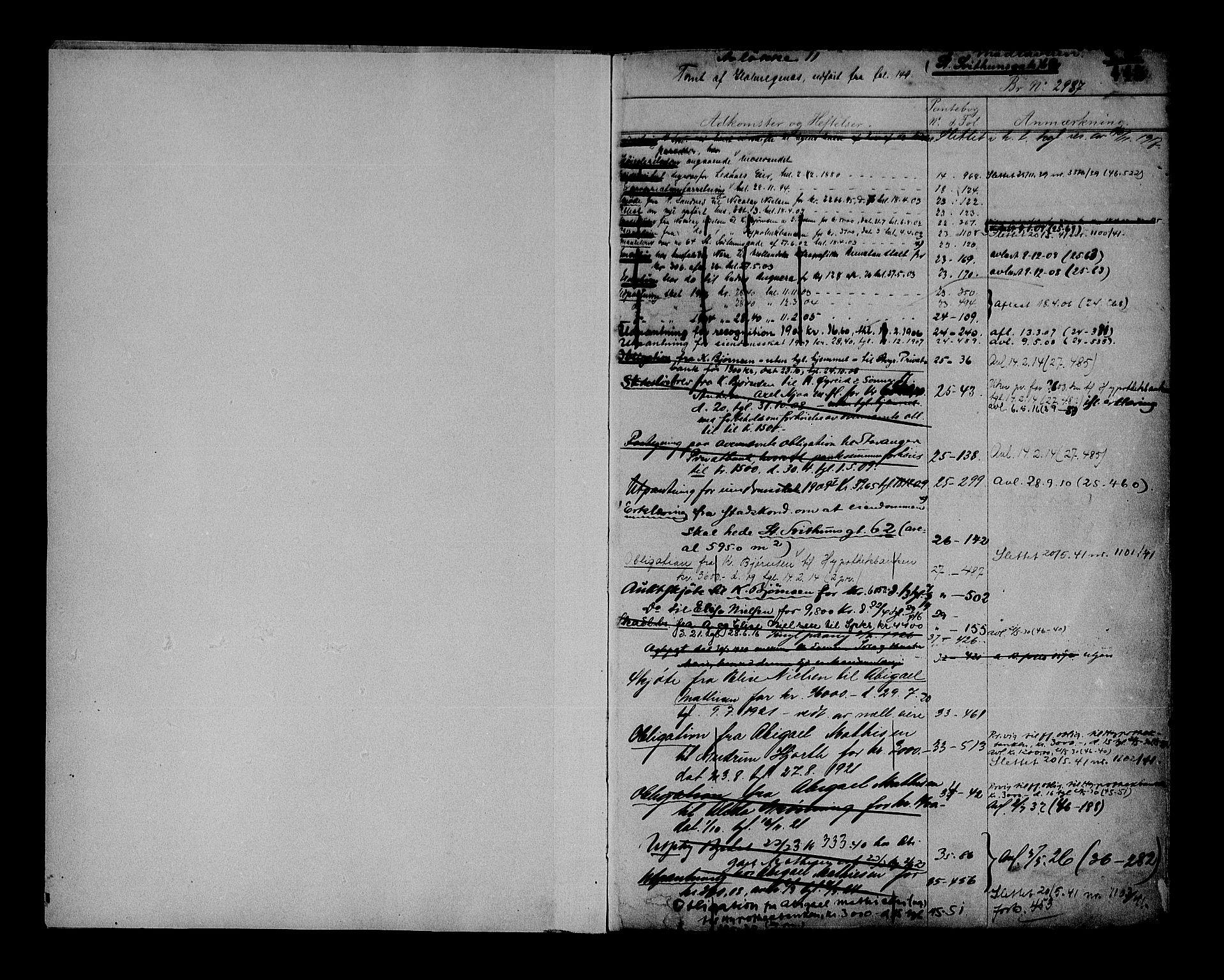 SAST, Stavanger byfogd, 4/41/410/410AD/L0009B: Mortgage register no. AD 9B, 1879, p. 445