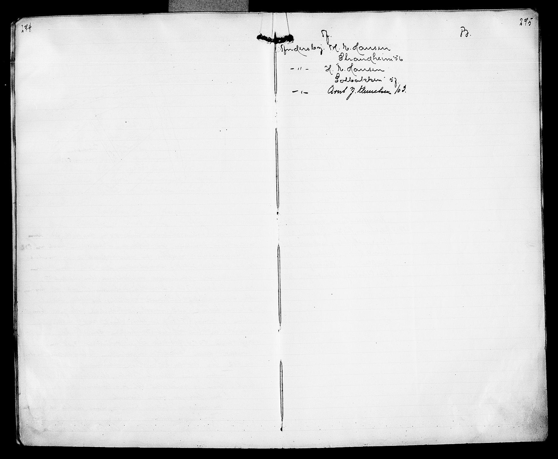 FIEI, Lensmannen i Nord-Varanger (hos Finnmarkseiendommen)*, 1908-1915, p. 274-275
