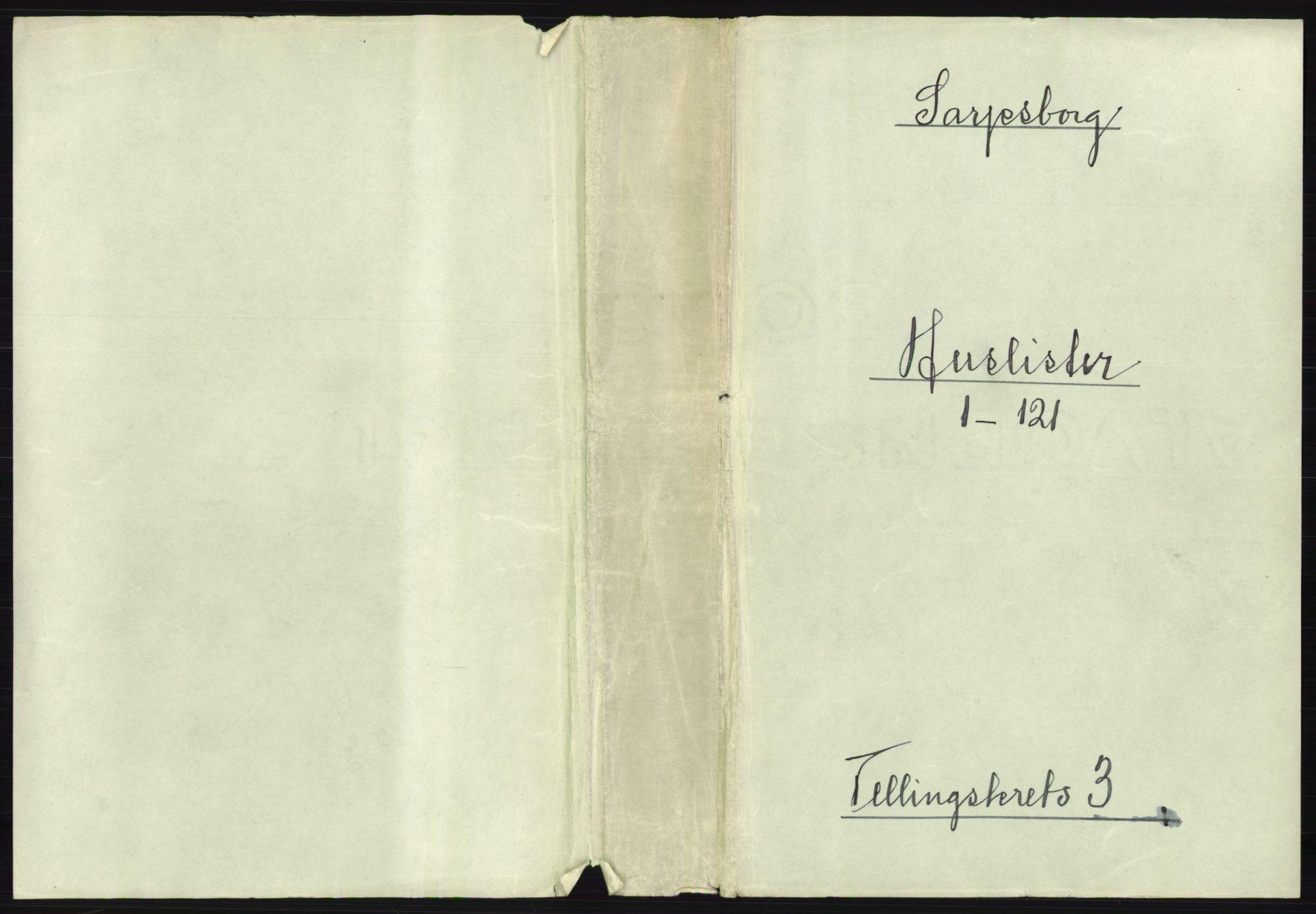RA, 1891 census for 0102 Sarpsborg, 1891, p. 2188