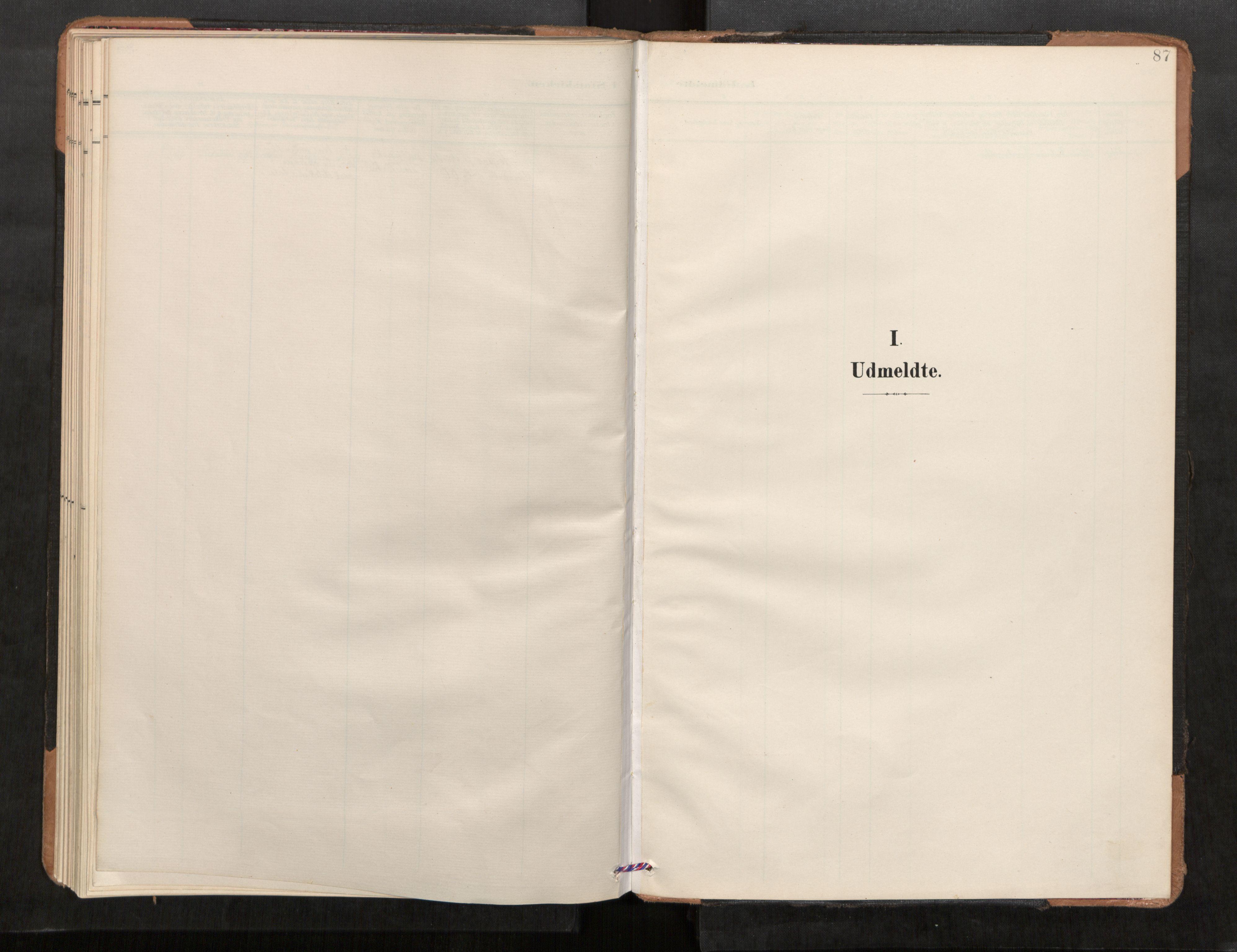 SAT, Stod sokneprestkontor, I/I1/I1a/L0001: Parish register (official) no. 1, 1900-1912, p. 87