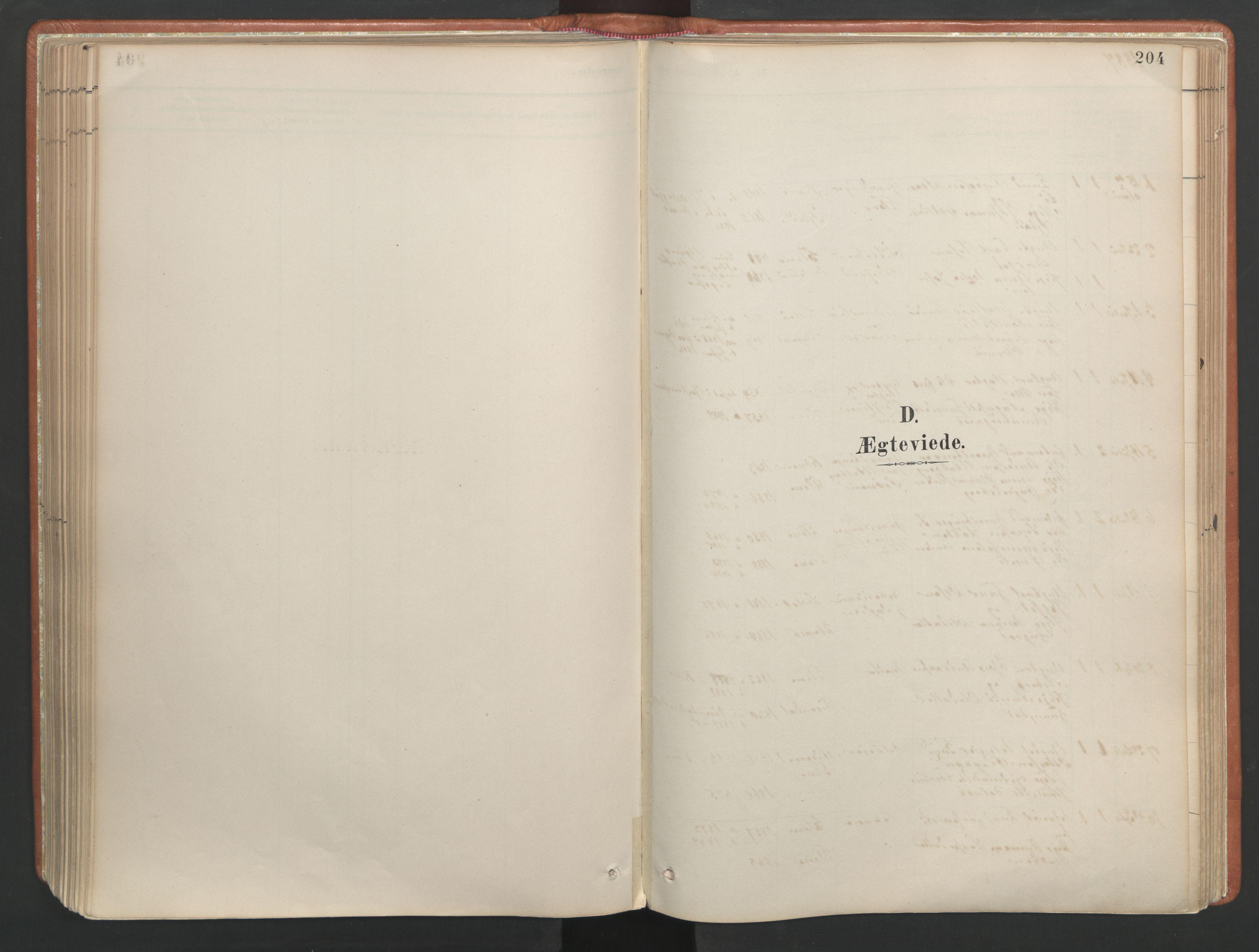 SAT, Ministerialprotokoller, klokkerbøker og fødselsregistre - Møre og Romsdal, 557/L0682: Parish register (official) no. 557A04, 1887-1970, p. 204