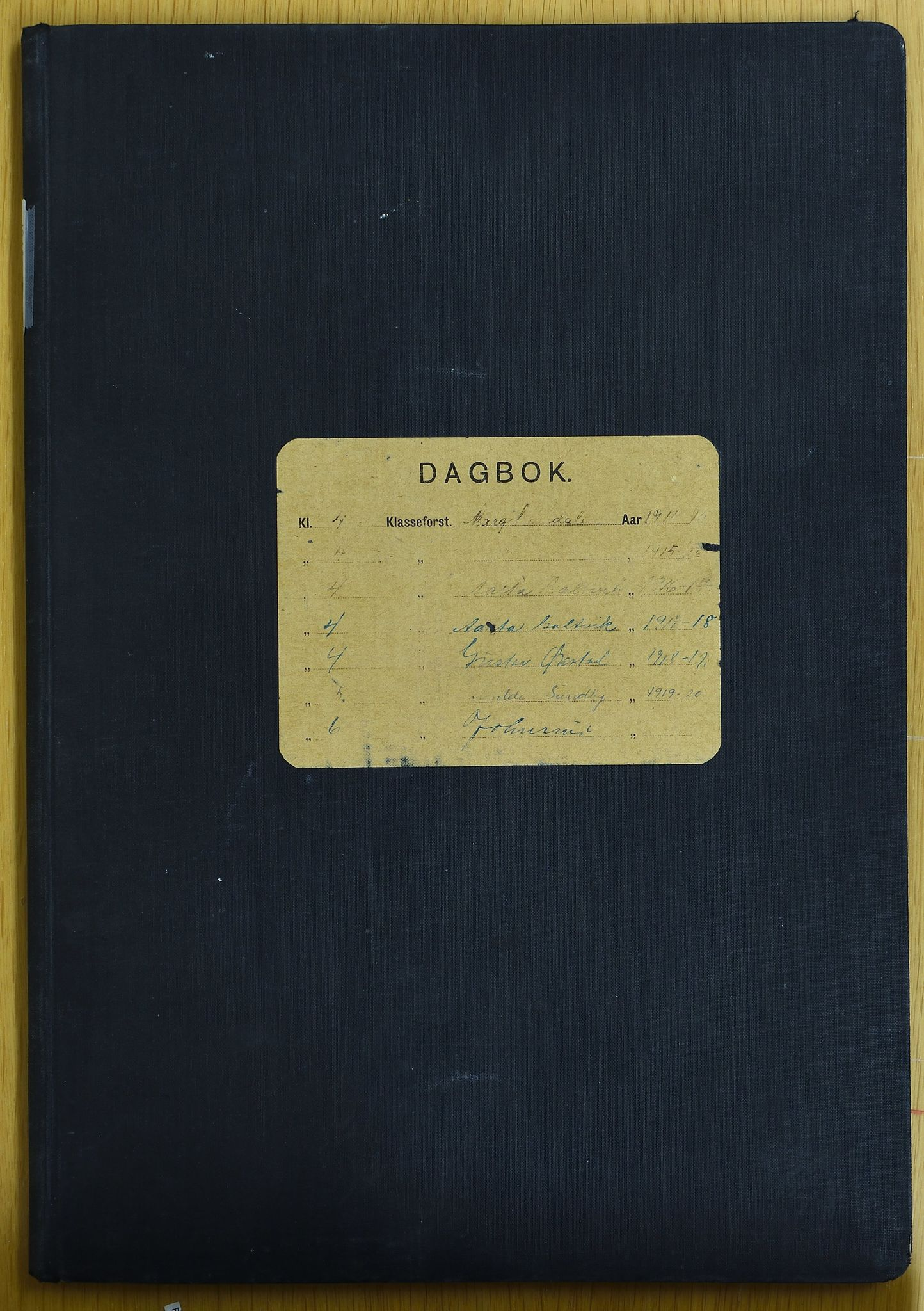 KVT, Vestre Toten kommunearkiv*, -, 1915-1921