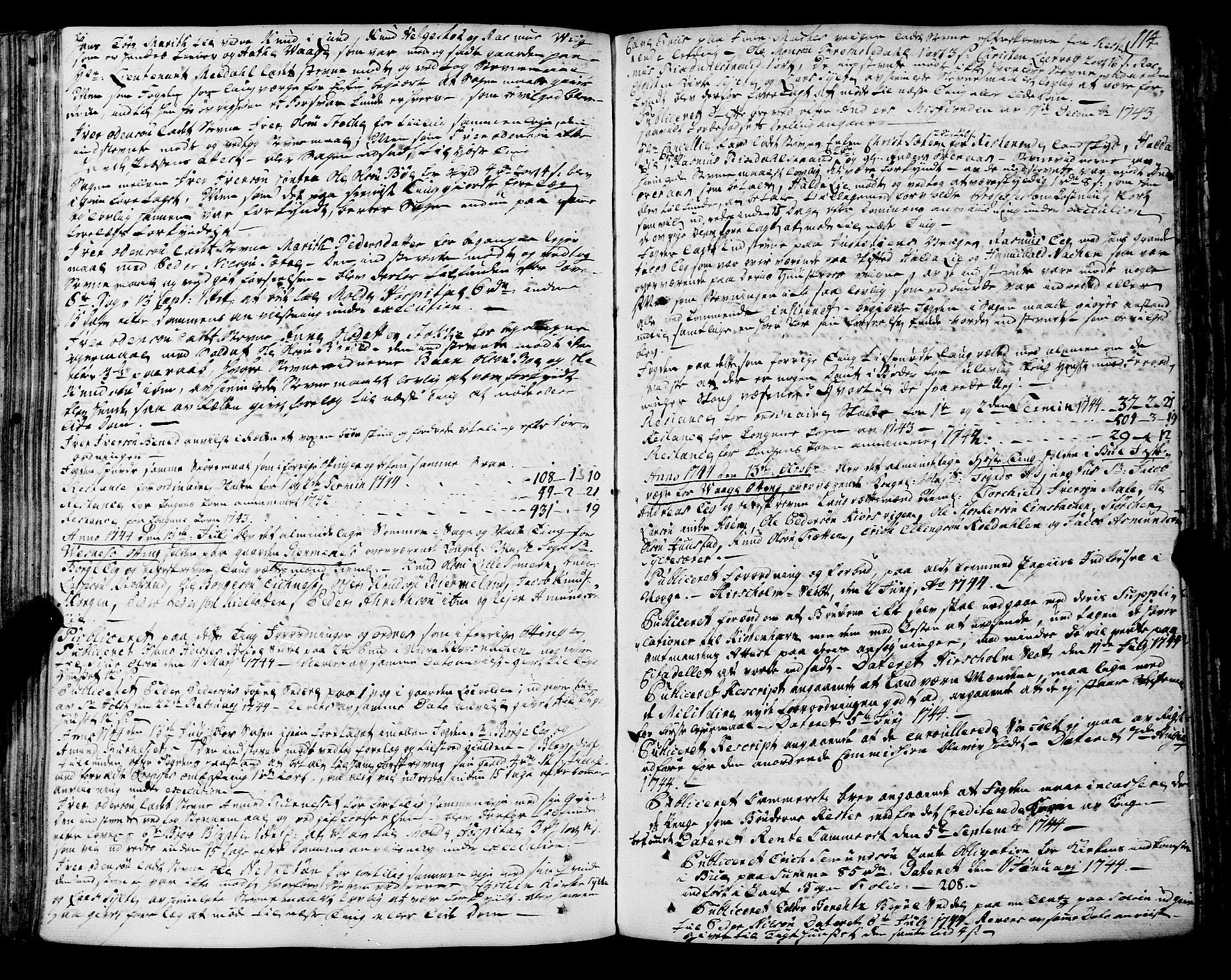 SAT, Romsdal sorenskriveri, 1/1A/L0012: Tingbok, 1740-1749, p. 113b-114a