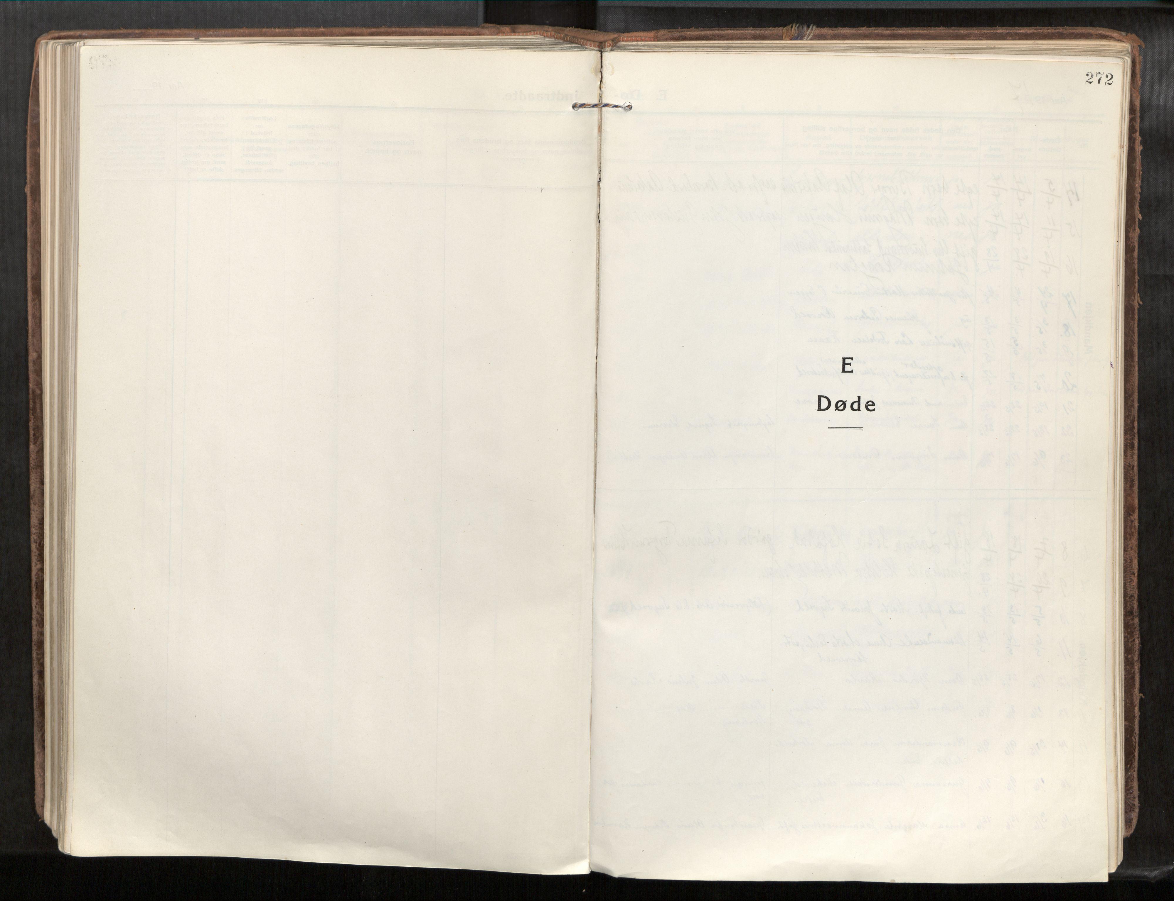 SAT, Verdal sokneprestkontor*, Parish register (official) no. 1, 1917-1932, p. 272