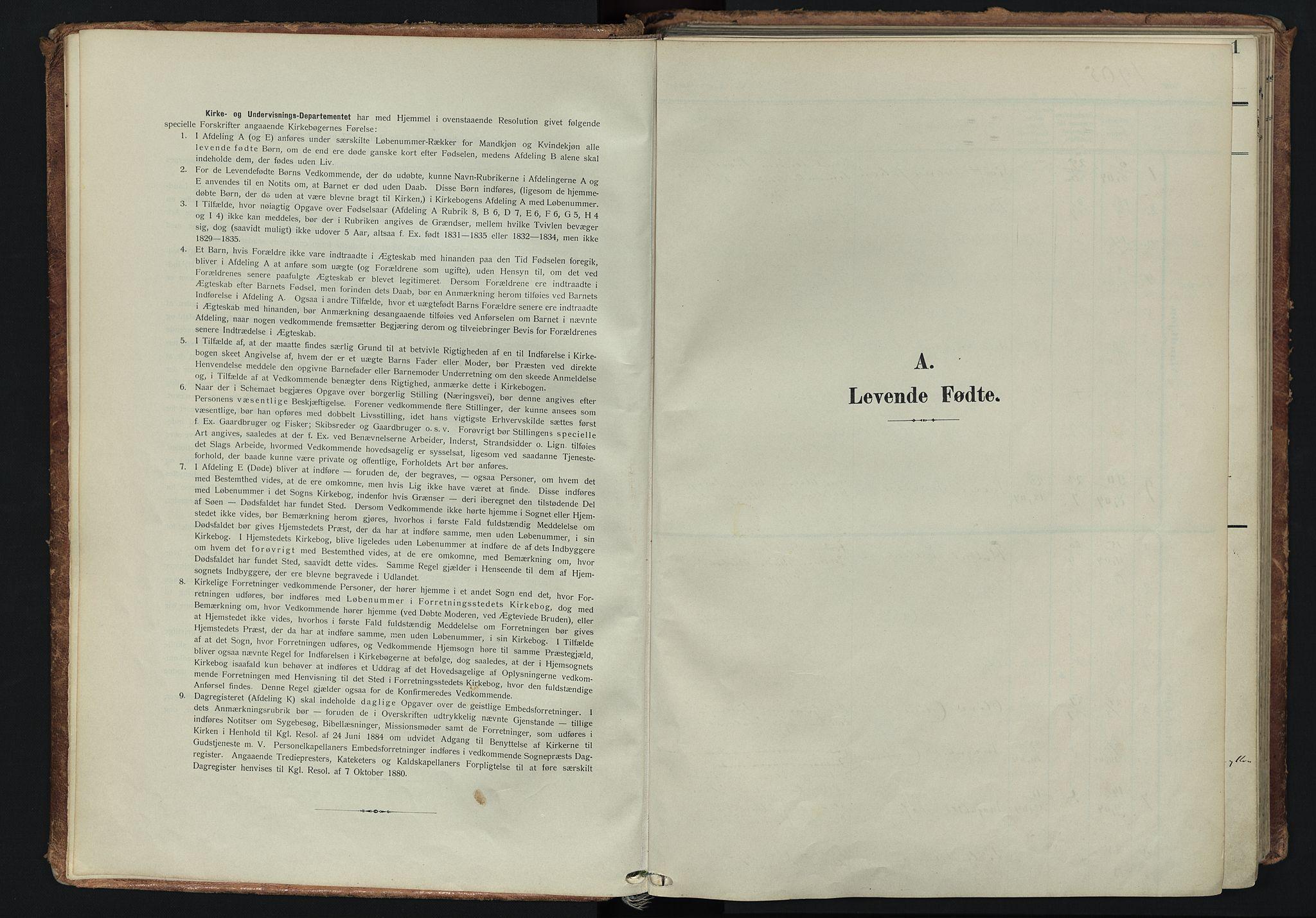 SATØ, Tranøy sokneprestkontor, I/Ia/Iaa/L0014kirke: Parish register (official) no. 14, 1905-1919