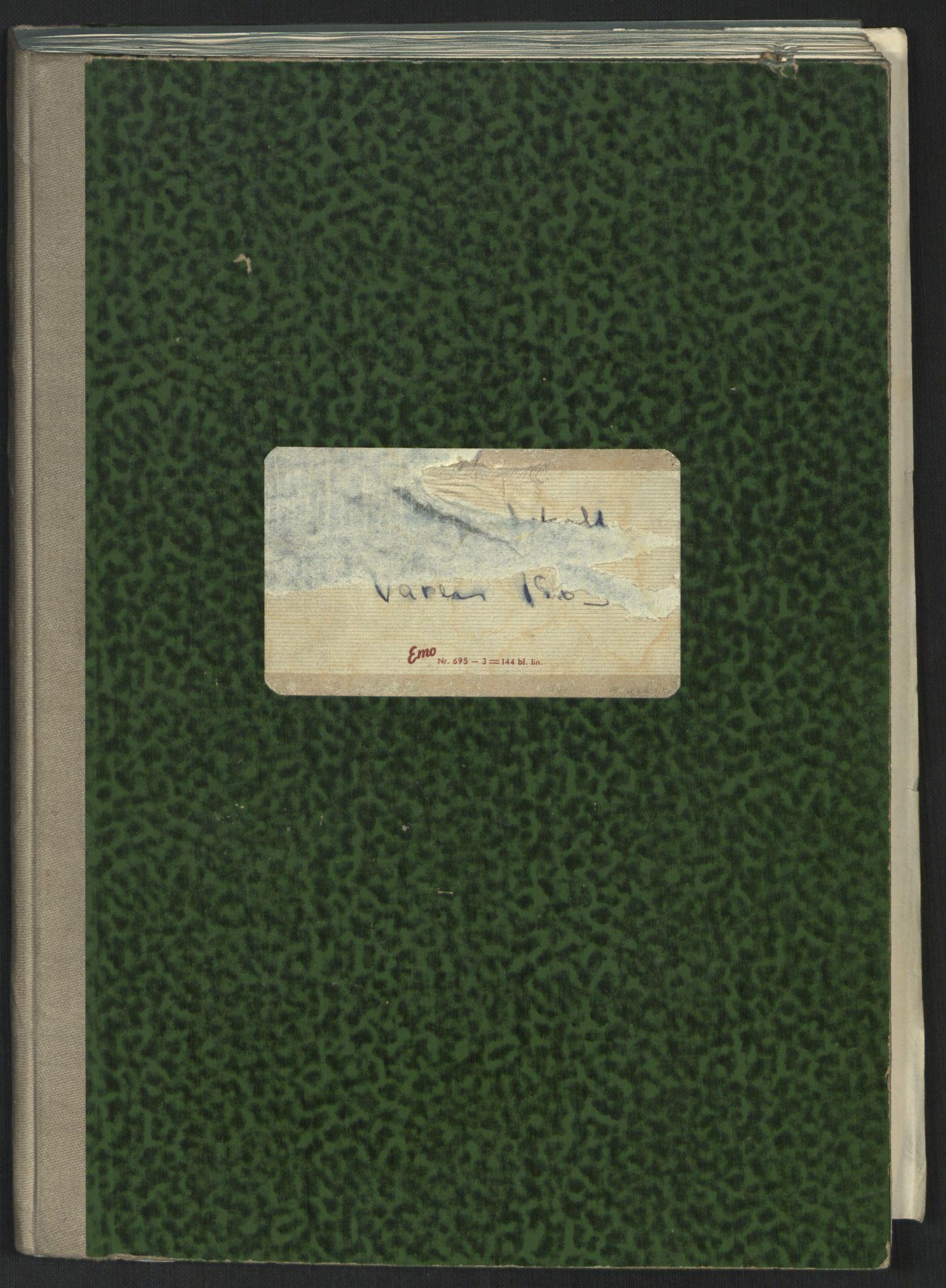 RA, Det Norske Studentersamfund, A/Ac/L0020: Møteprotokoller, 1963