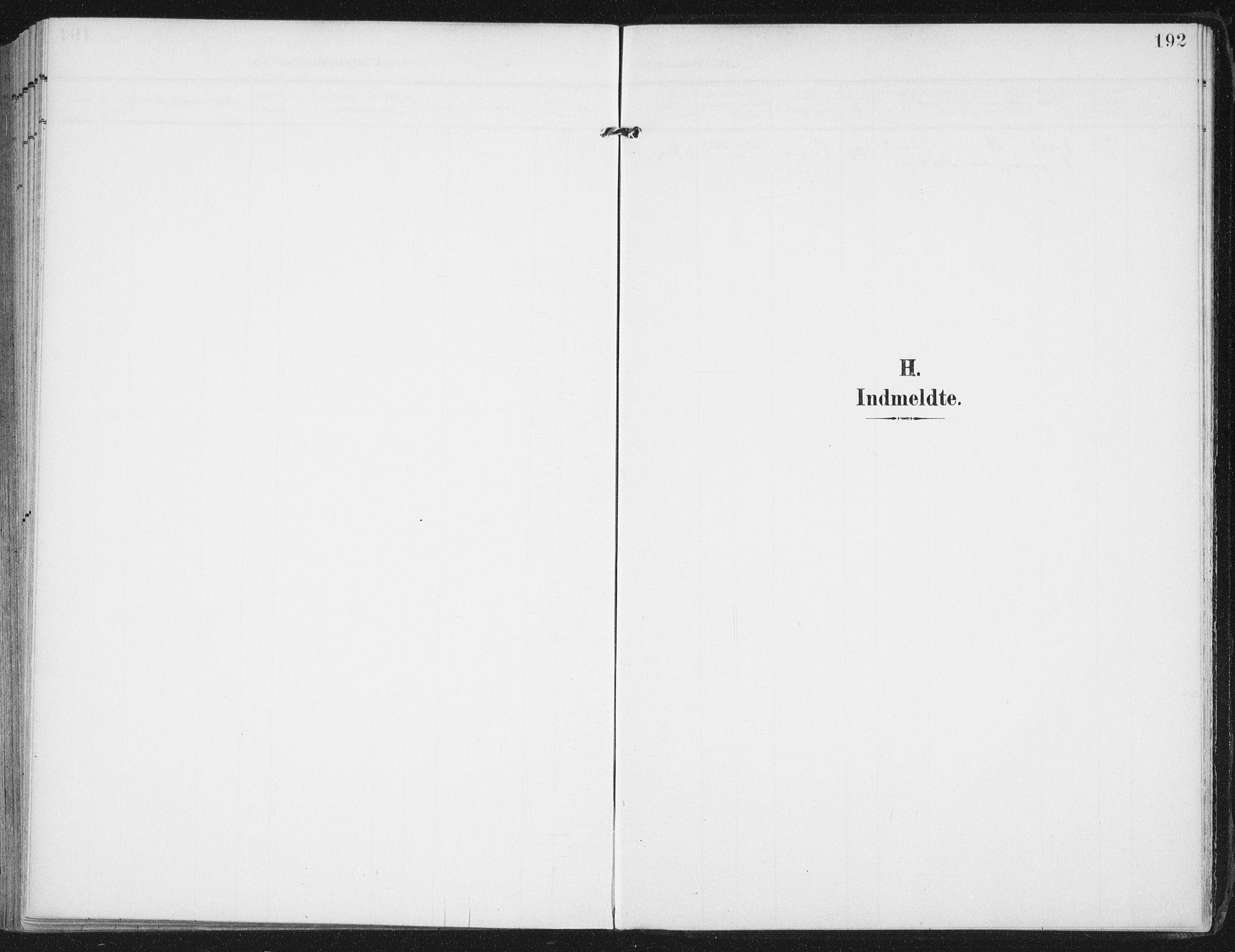 SAT, Ministerialprotokoller, klokkerbøker og fødselsregistre - Nordland, 892/L1321: Parish register (official) no. 892A02, 1902-1918, p. 192