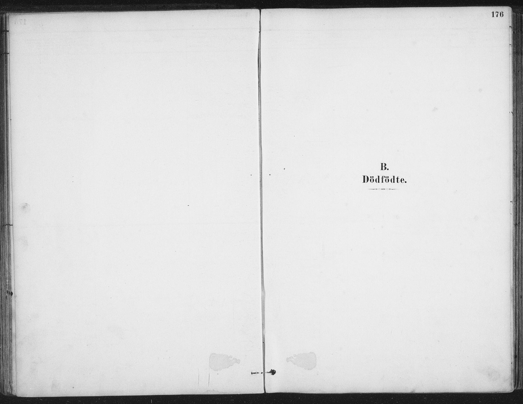 SAT, Ministerialprotokoller, klokkerbøker og fødselsregistre - Nordland, 888/L1244: Parish register (official) no. 888A10, 1880-1890, p. 176