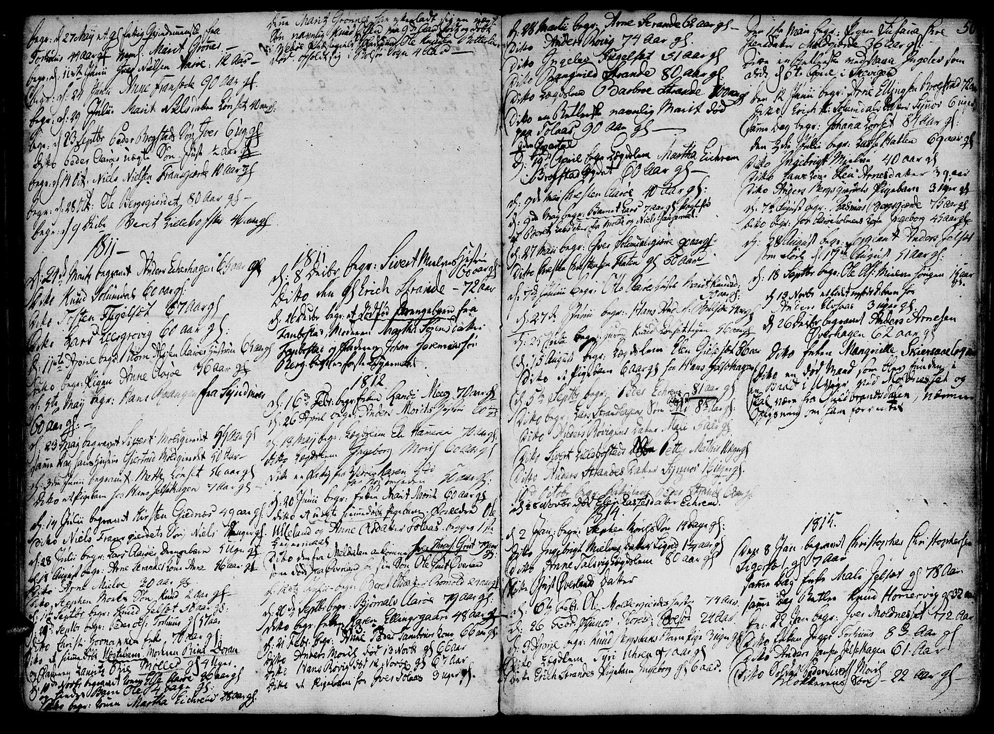 SAT, Ministerialprotokoller, klokkerbøker og fødselsregistre - Møre og Romsdal, 555/L0649: Parish register (official) no. 555A02 /1, 1795-1821, p. 50