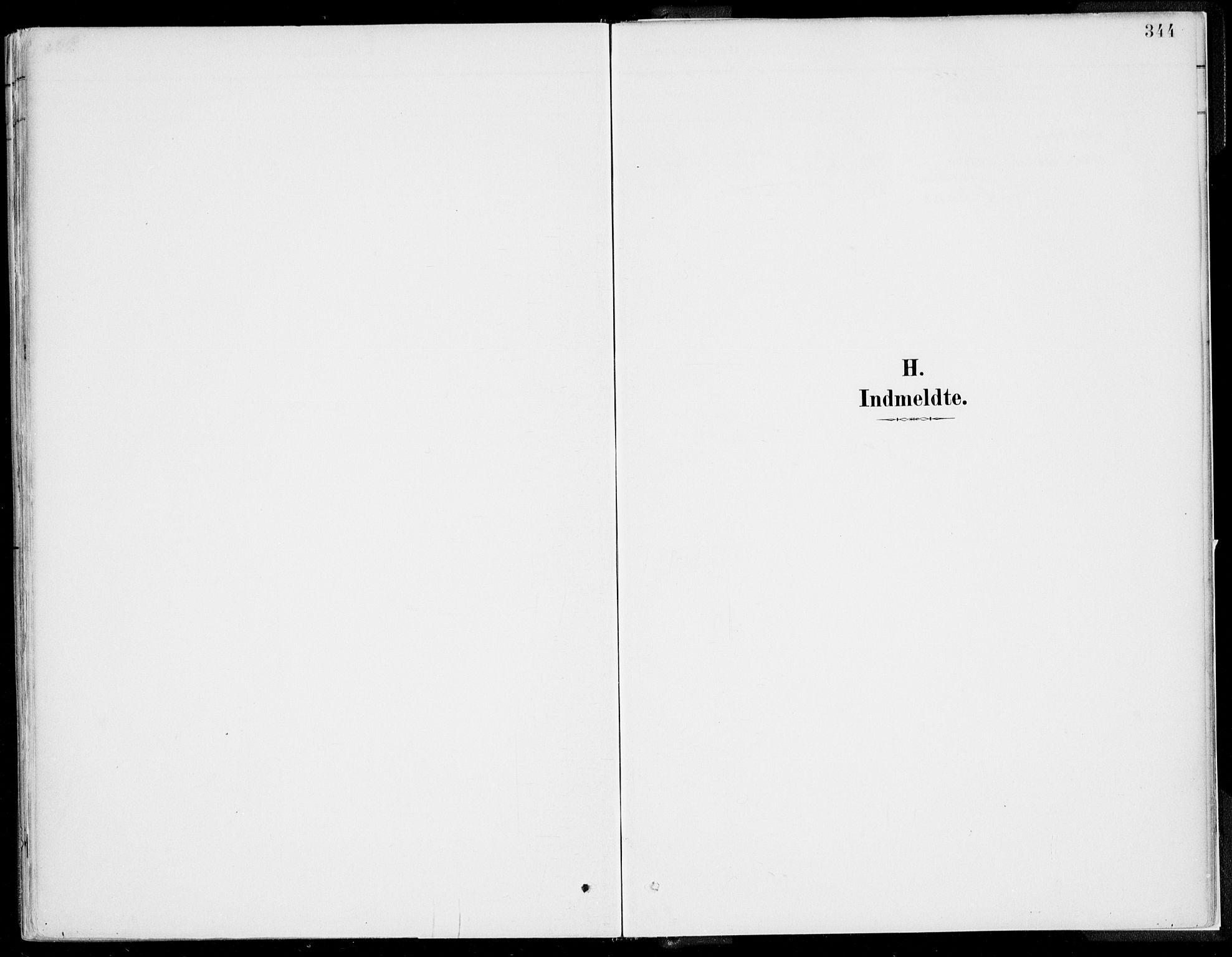 SAB, Kvinnherad Sokneprestembete, H/Haa: Parish register (official) no. B  1, 1887-1921, p. 344
