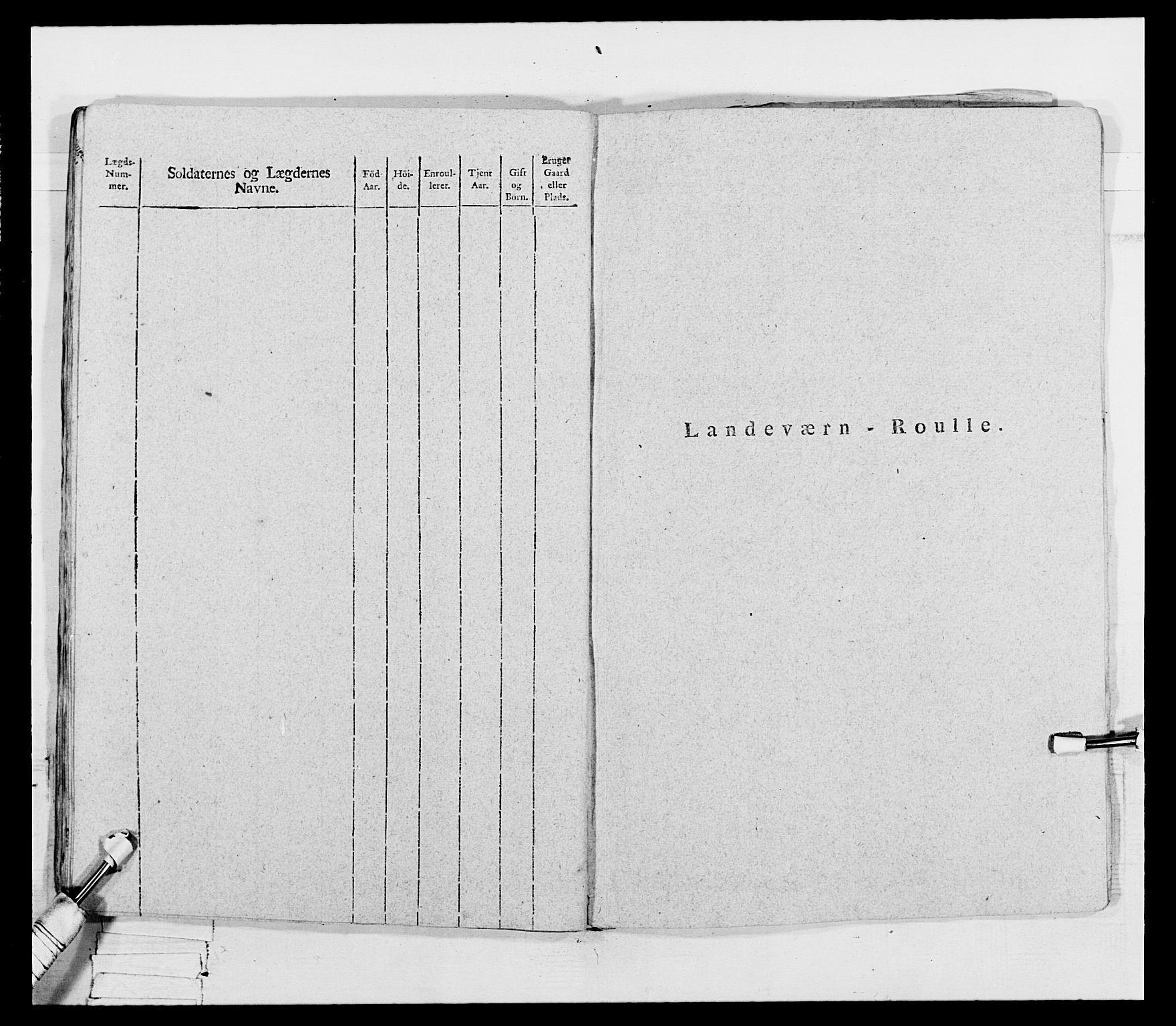 RA, Generalitets- og kommissariatskollegiet, Det kongelige norske kommissariatskollegium, E/Eh/L0069: Opplandske gevorbne infanteriregiment, 1810-1818, p. 191