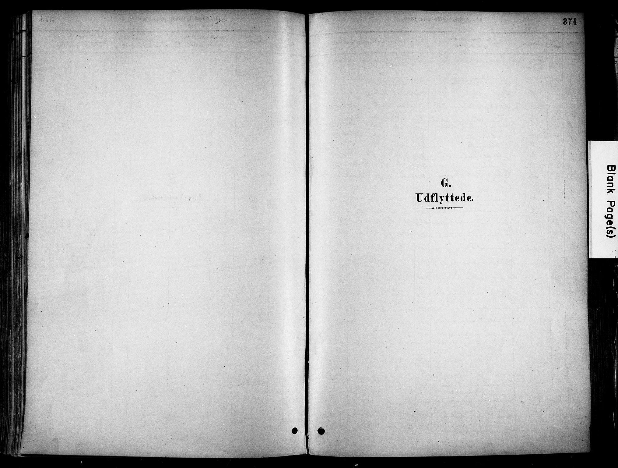 SAH, Stange prestekontor, K/L0017: Parish register (official) no. 17, 1880-1893, p. 374
