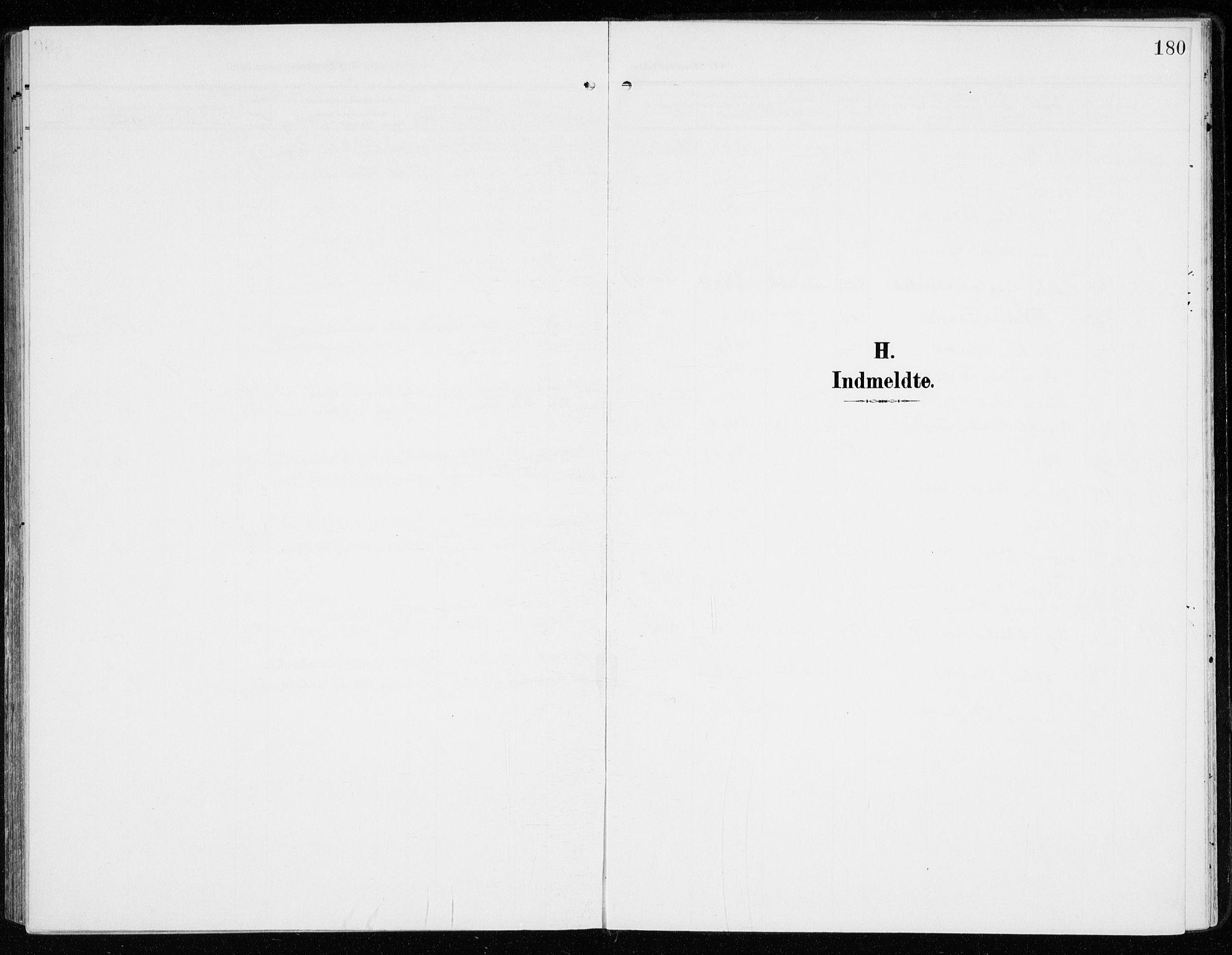 SAH, Sel prestekontor, Parish register (official) no. 2, 1905-1919, p. 180