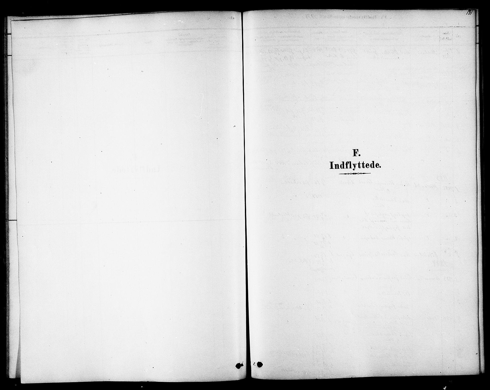 SAT, Ministerialprotokoller, klokkerbøker og fødselsregistre - Sør-Trøndelag, 692/L1105: Parish register (official) no. 692A05, 1878-1890, p. 181