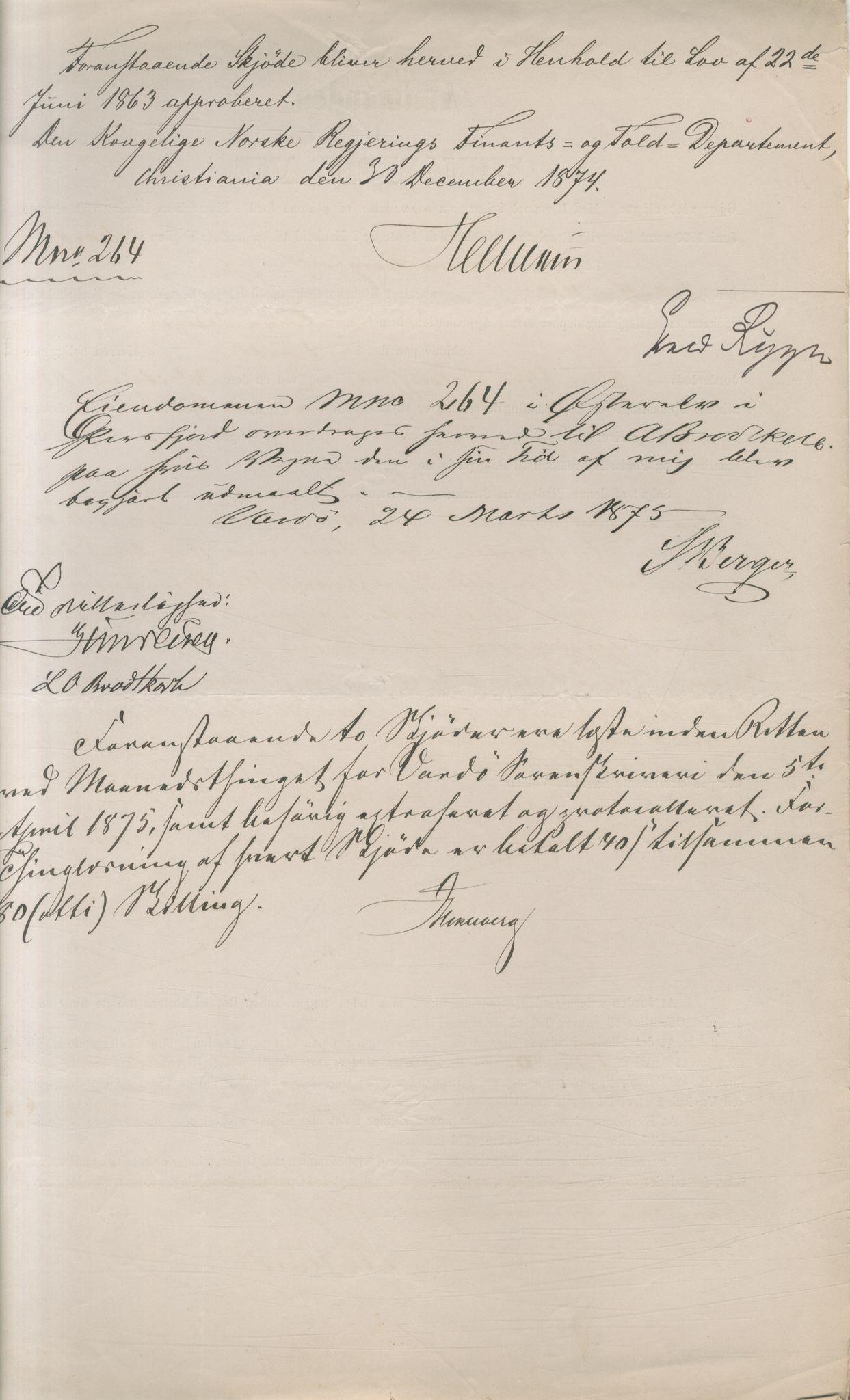 VAMU, Brodtkorb handel A/S, Q/Qb/L0003: Faste eiendommer i Vardø Herred, 1862-1939, p. 69