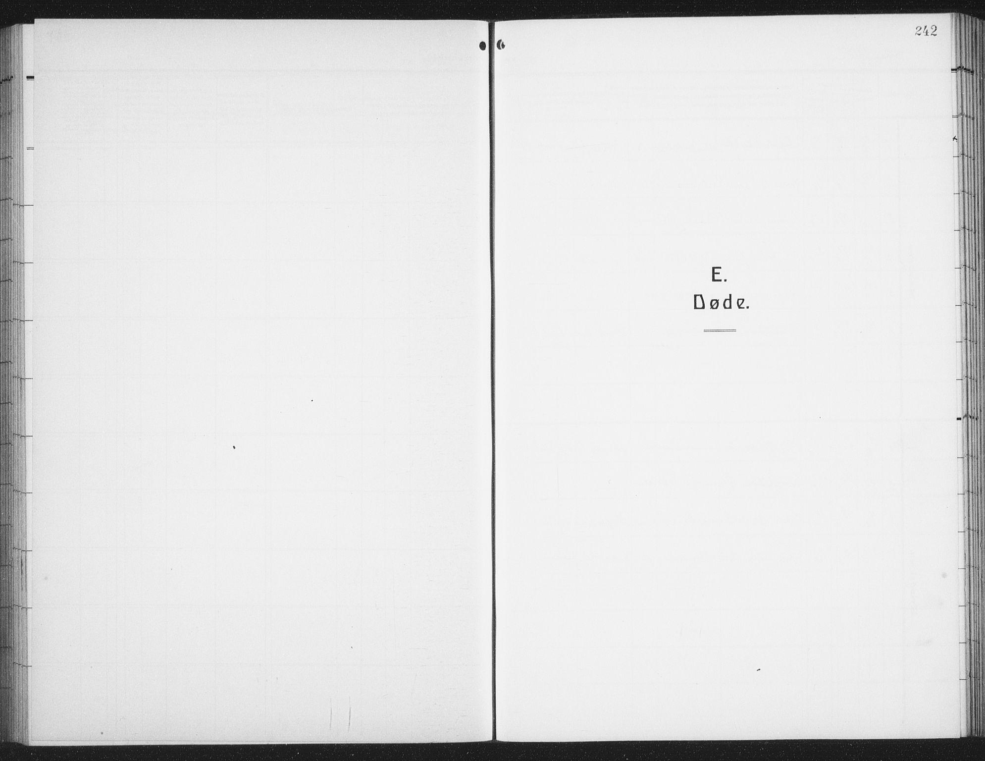SAT, Ministerialprotokoller, klokkerbøker og fødselsregistre - Nordland, 876/L1106: Parish register (copy) no. 876C05, 1915-1942, p. 242