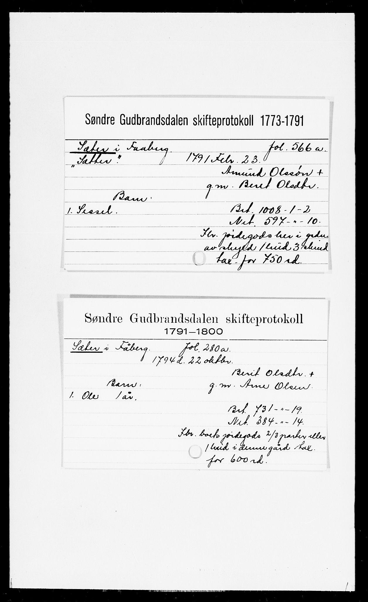 SAH, Sør-Gudbrandsdal tingrett, J, 1658-1885, p. 16506