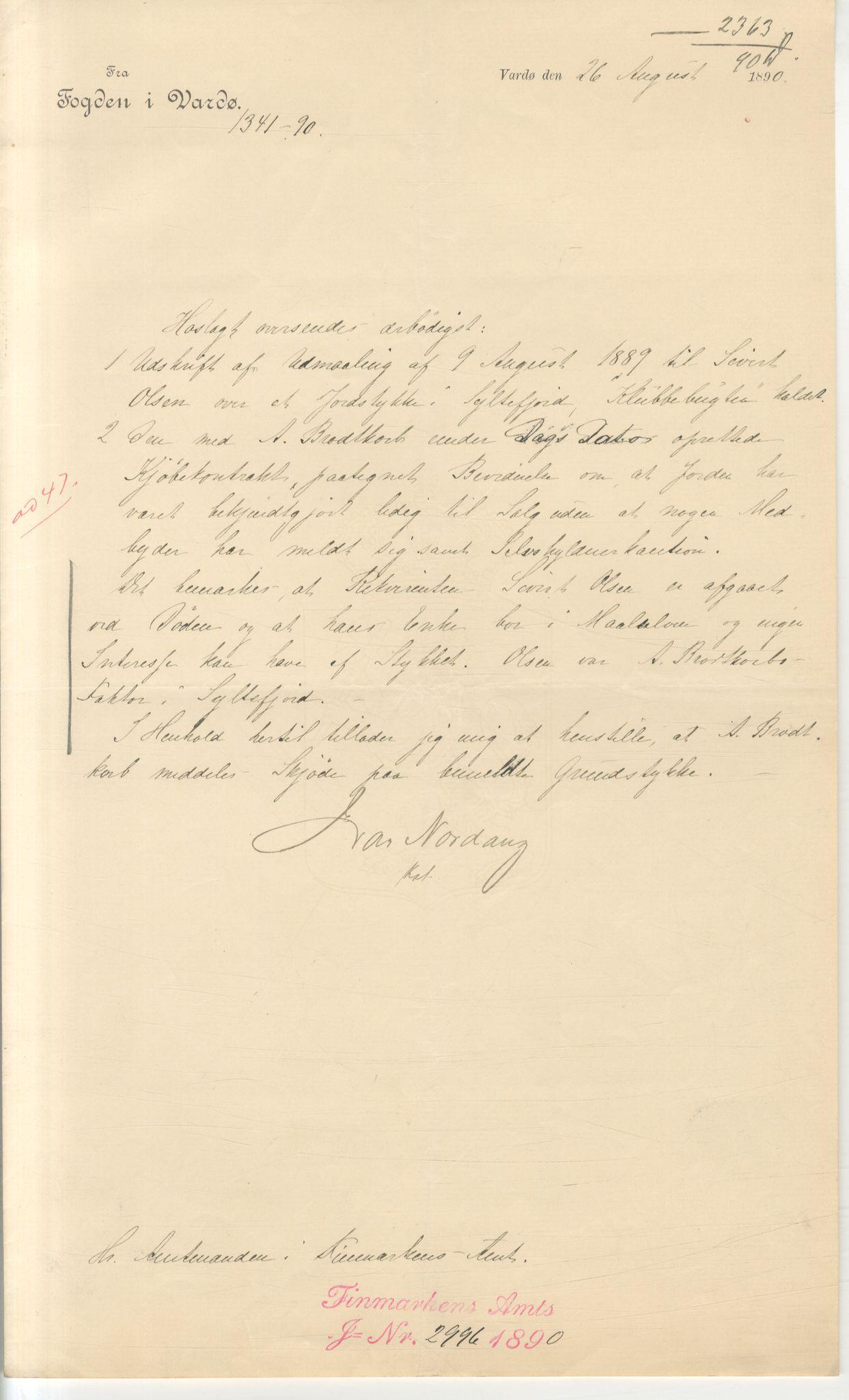 VAMU, Brodtkorb handel A/S, Q/Qb/L0003: Faste eiendommer i Vardø Herred, 1862-1939, p. 298