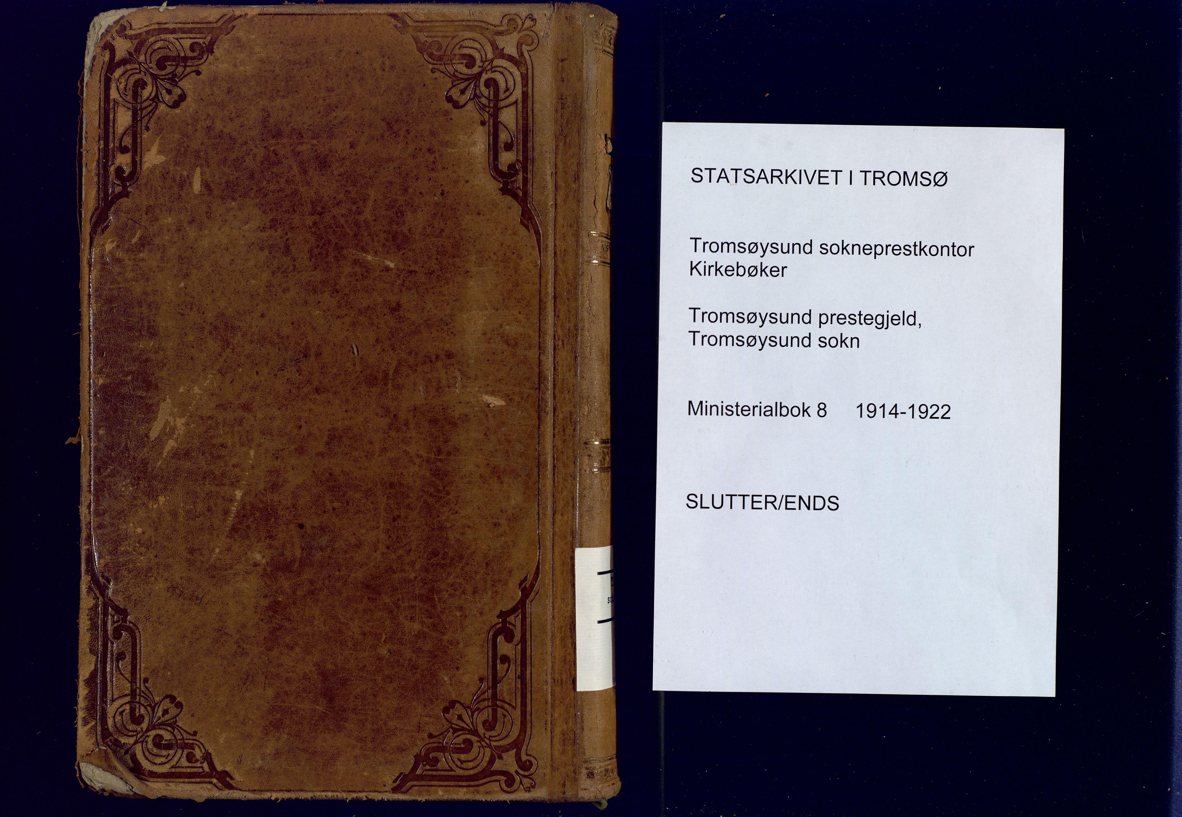 SATØ, Tromsøysund sokneprestkontor, G/Ga: Parish register (official) no. 8, 1914-1922, p. 440