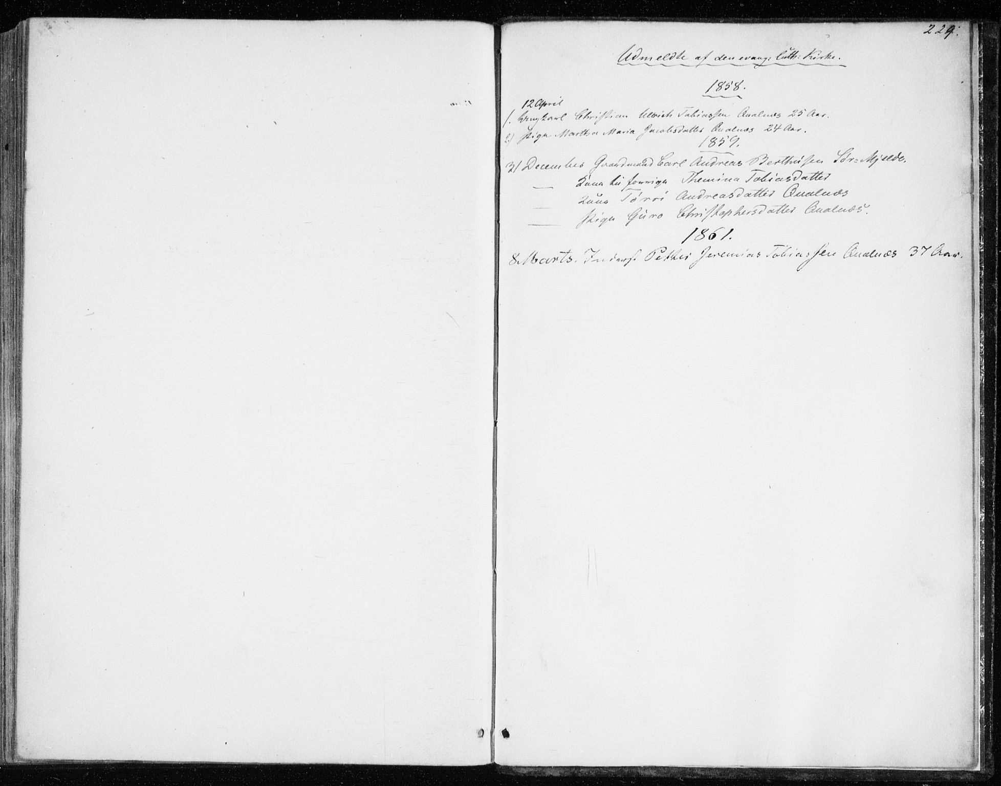 SATØ, Balsfjord sokneprestembete, Parish register (official) no. 1, 1858-1870, p. 224