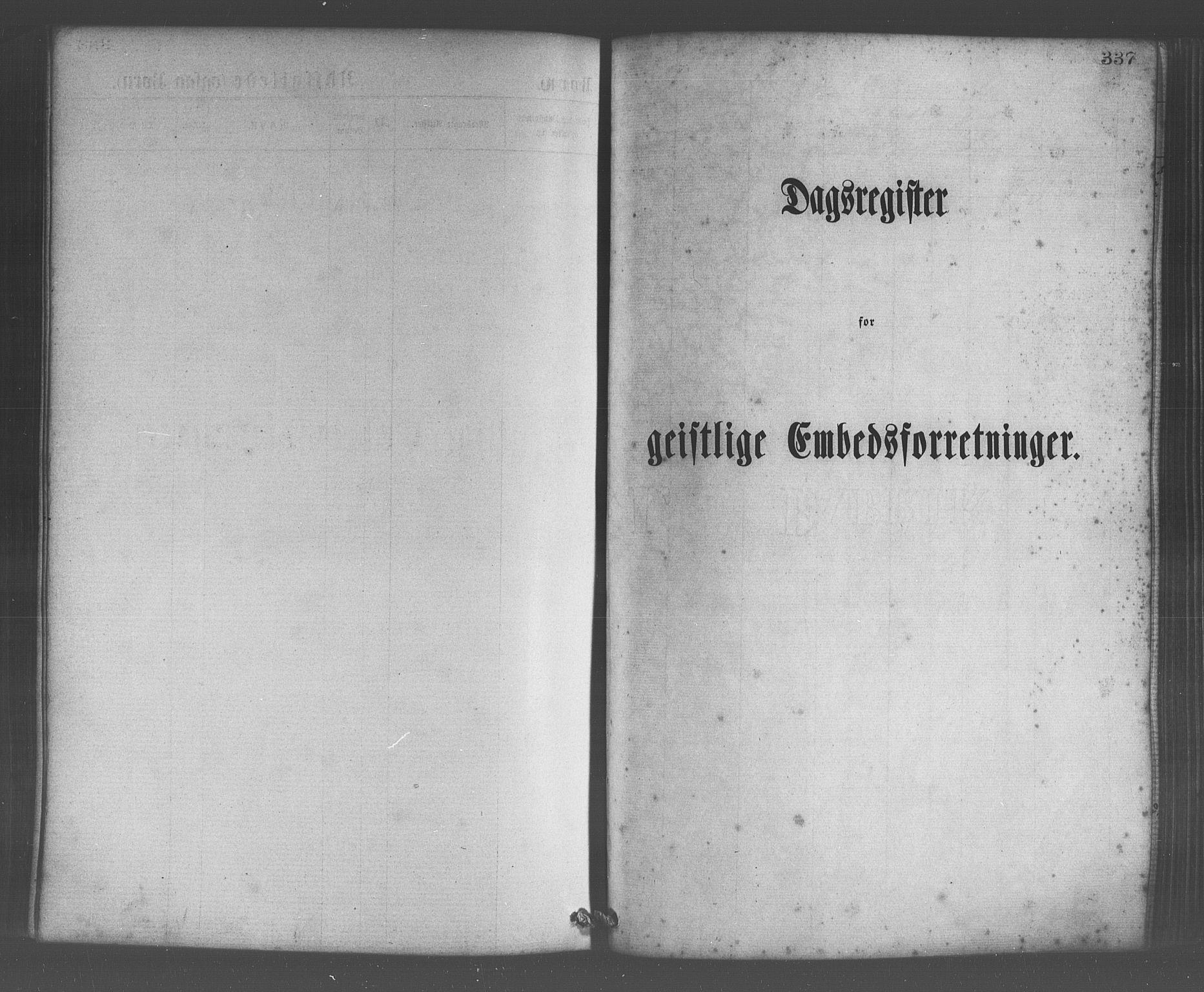 SAB, Os sokneprestembete*, Parish register (official) no. A 18, 1874-1884, p. 337