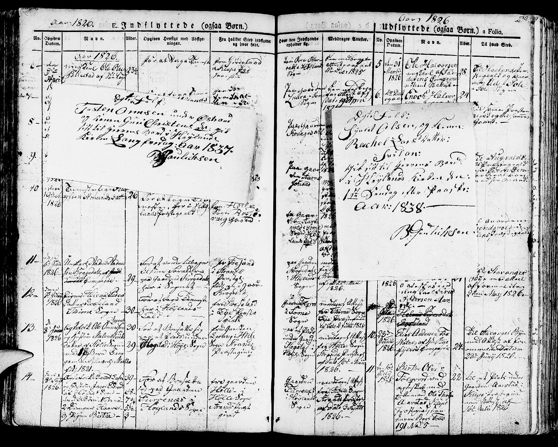 SAST, Høyland sokneprestkontor, 30BA/L0007: Parish register (official) no. A 7 /1, 1825-1841, p. 298