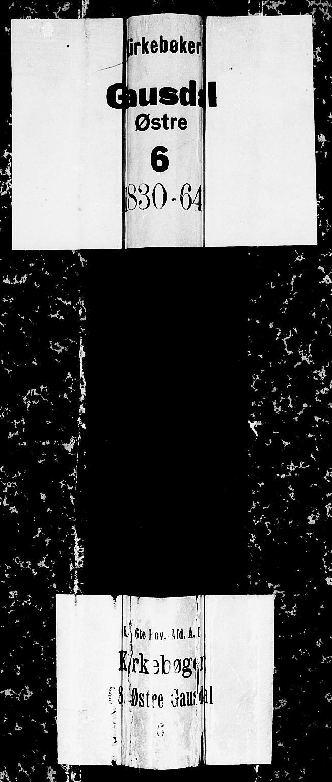 SAH, Gausdal prestekontor, Parish register (copy) no. 3, 1829-1864