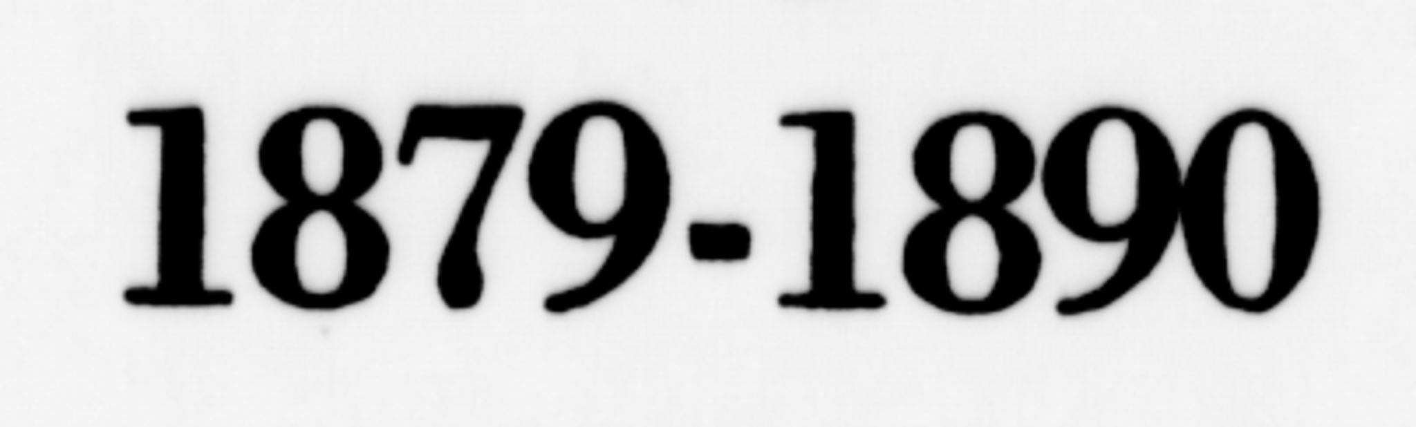 SAH, Ringsaker prestekontor, K/Ka/L0013: Parish register (official) no. 13, 1879-1890