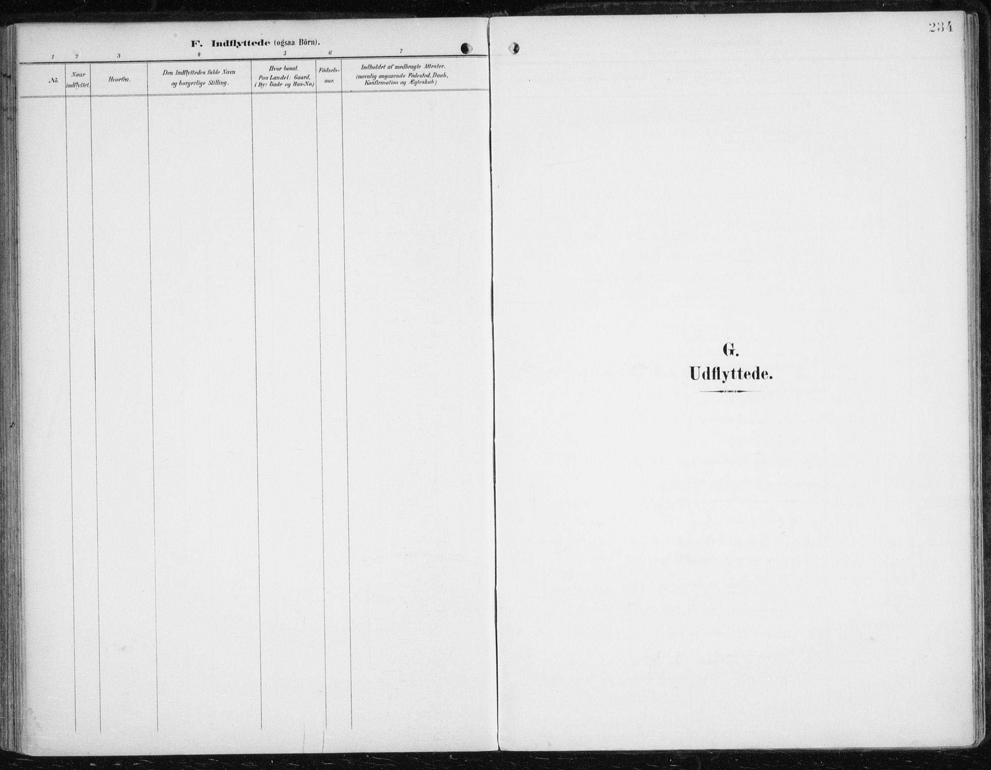 SATØ, Balsfjord sokneprestembete, Parish register (official) no. 6, 1897-1909, p. 234