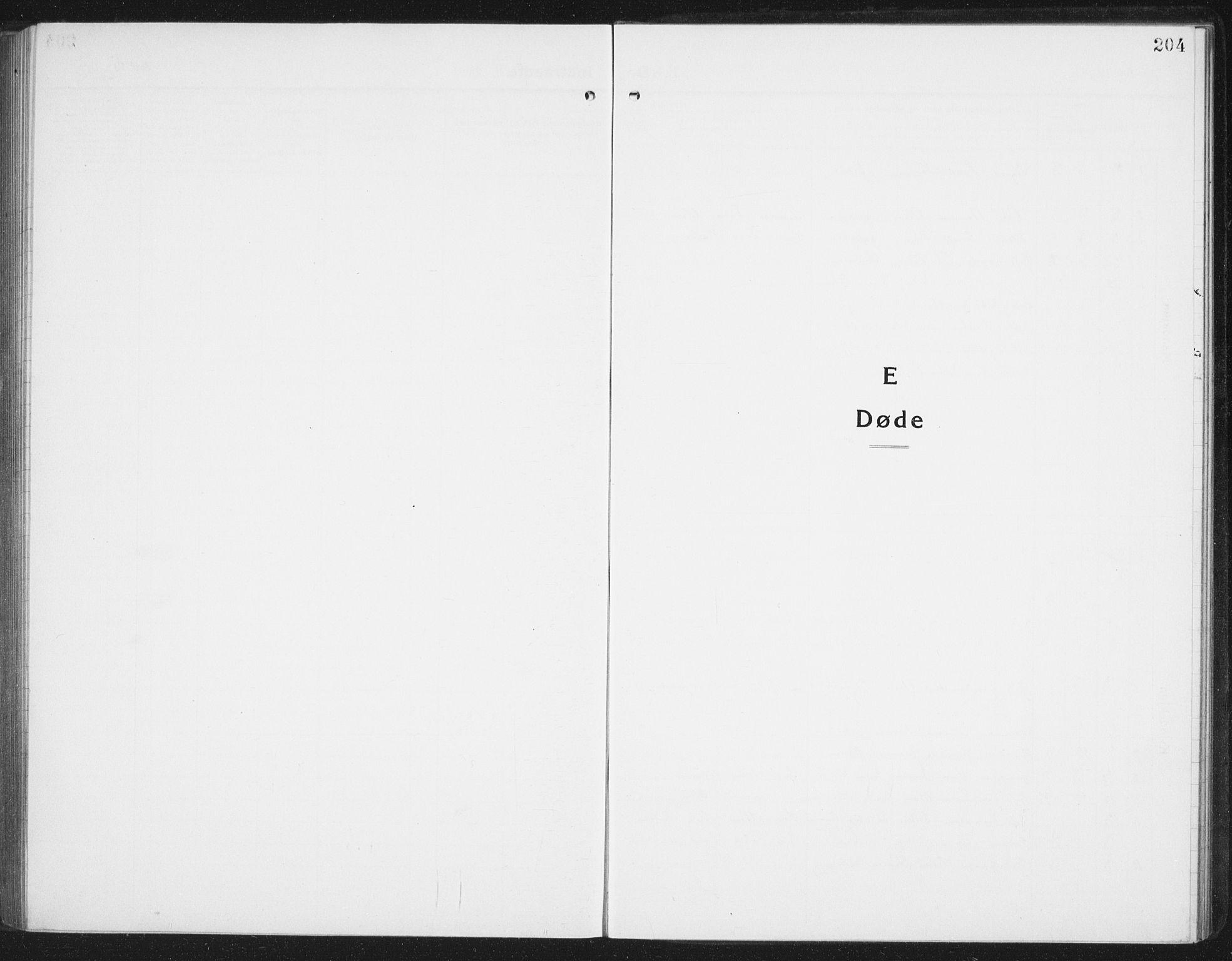 SAT, Ministerialprotokoller, klokkerbøker og fødselsregistre - Nordland, 898/L1428: Parish register (copy) no. 898C03, 1918-1938, p. 204
