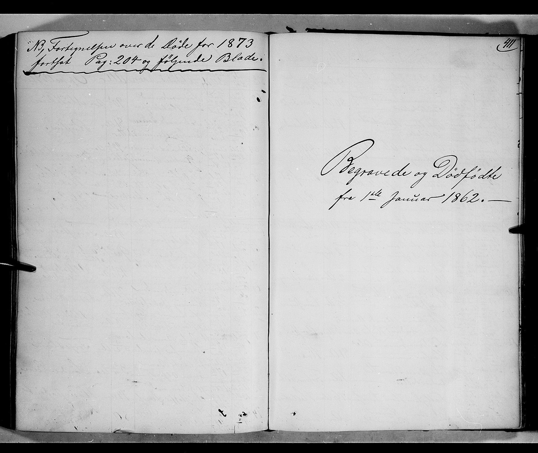 SAH, Gausdal prestekontor, Parish register (official) no. 9, 1862-1873, p. 411