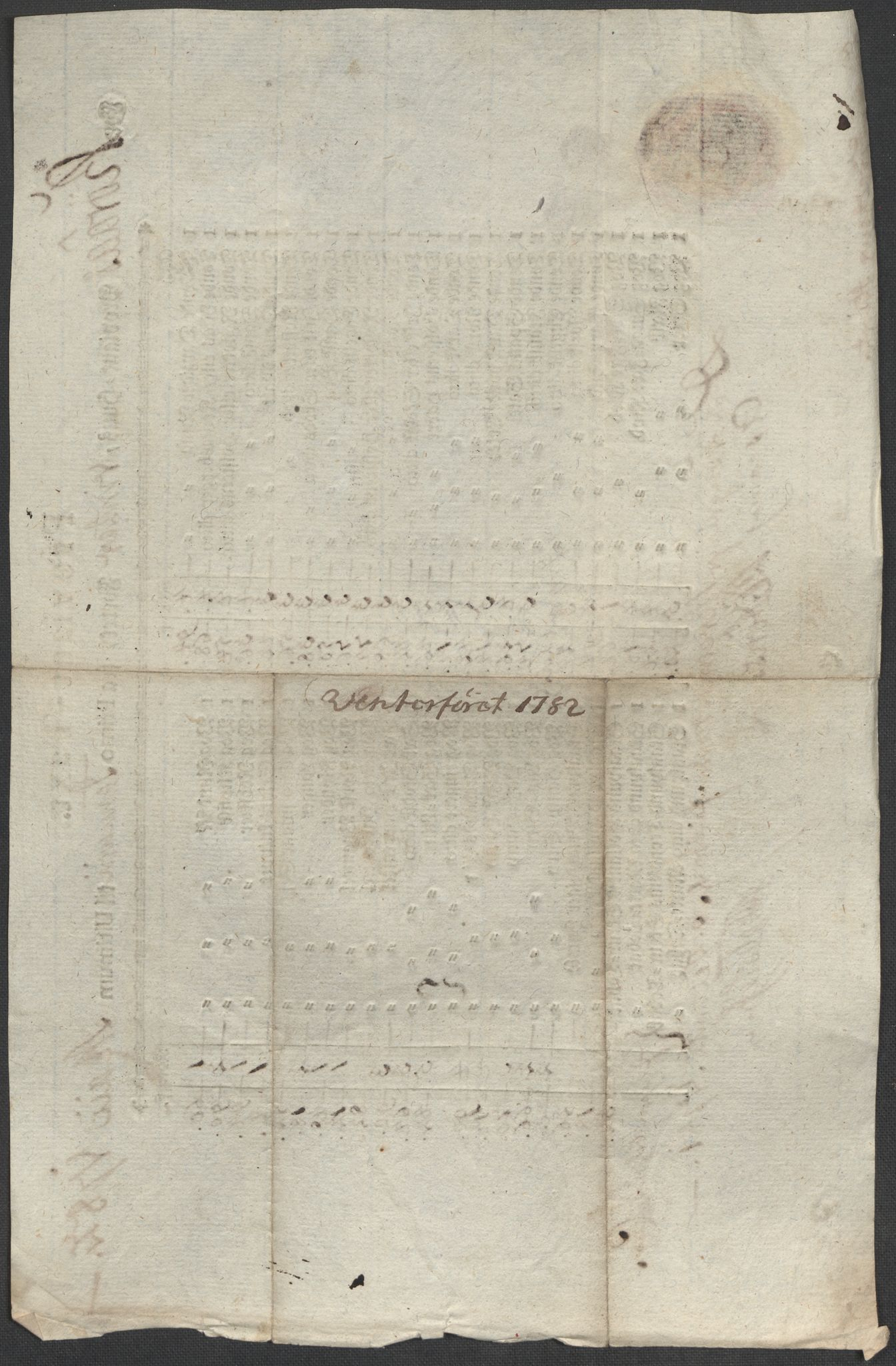 SAT, Røros kobberverk, 12/L0021: 12.20.9 Provianttakster, 1765-1824, p. 71