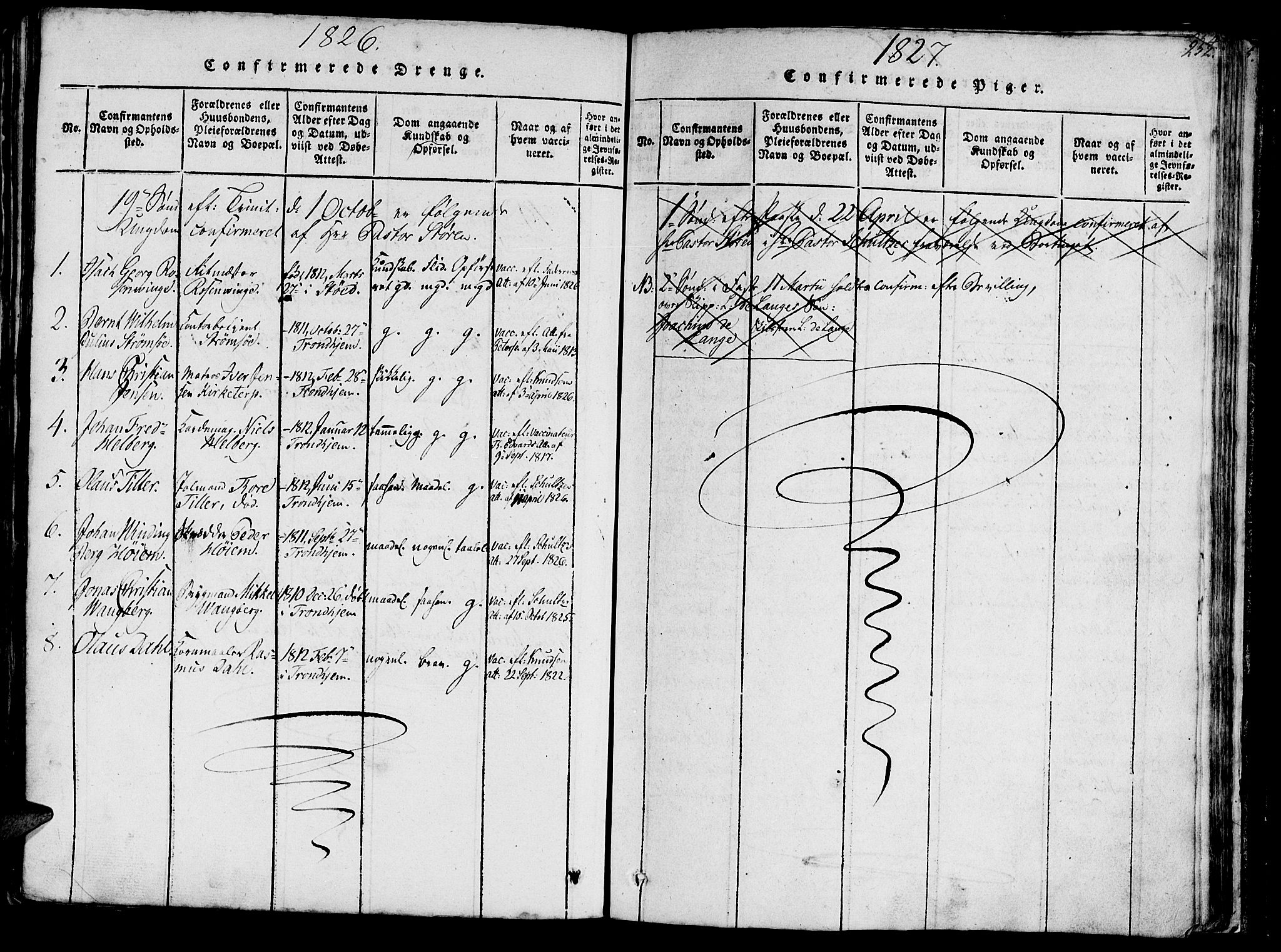 SAT, Ministerialprotokoller, klokkerbøker og fødselsregistre - Sør-Trøndelag, 602/L0135: Parish register (copy) no. 602C03, 1815-1832, p. 252
