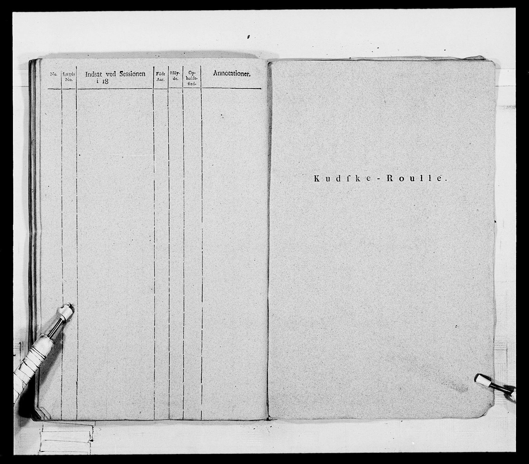RA, Generalitets- og kommissariatskollegiet, Det kongelige norske kommissariatskollegium, E/Eh/L0069: Opplandske gevorbne infanteriregiment, 1810-1818, p. 311