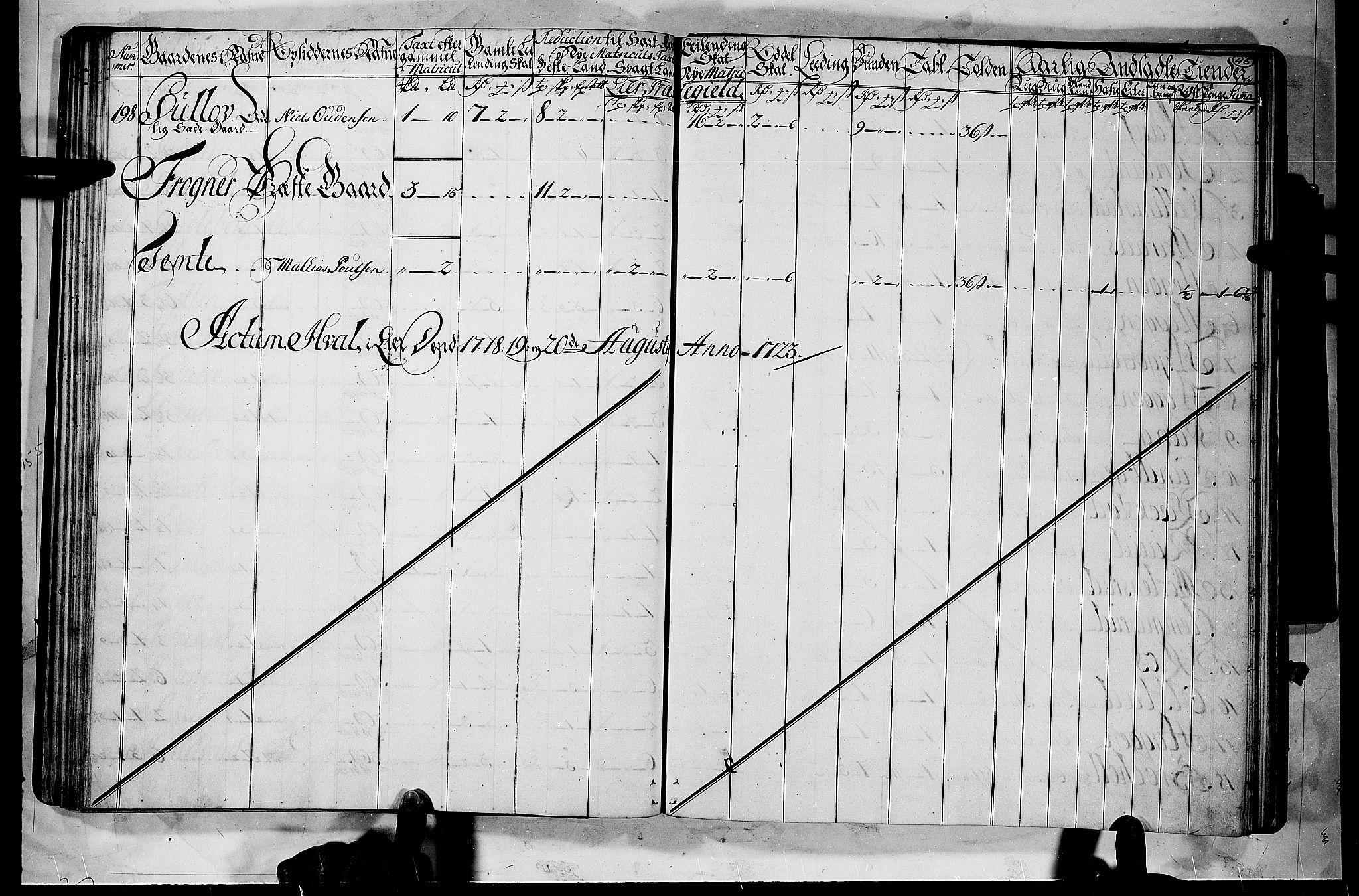 RA, Rentekammeret inntil 1814, Realistisk ordnet avdeling, N/Nb/Nbf/L0112: Buskerud matrikkelprotokoll, 1723, p. 47