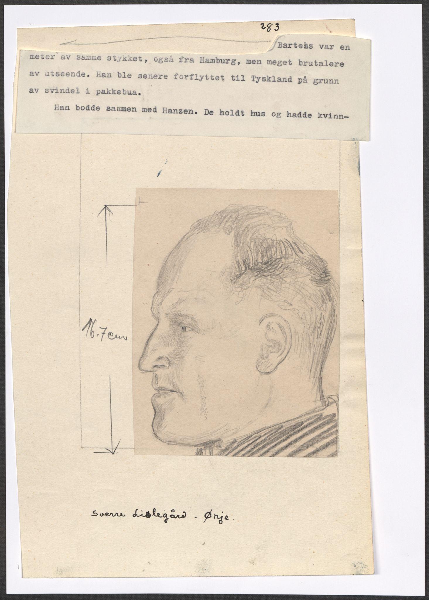 RA, Grøgaard, Joachim, F/L0002: Tegninger og tekster, 1942-1945, p. 39