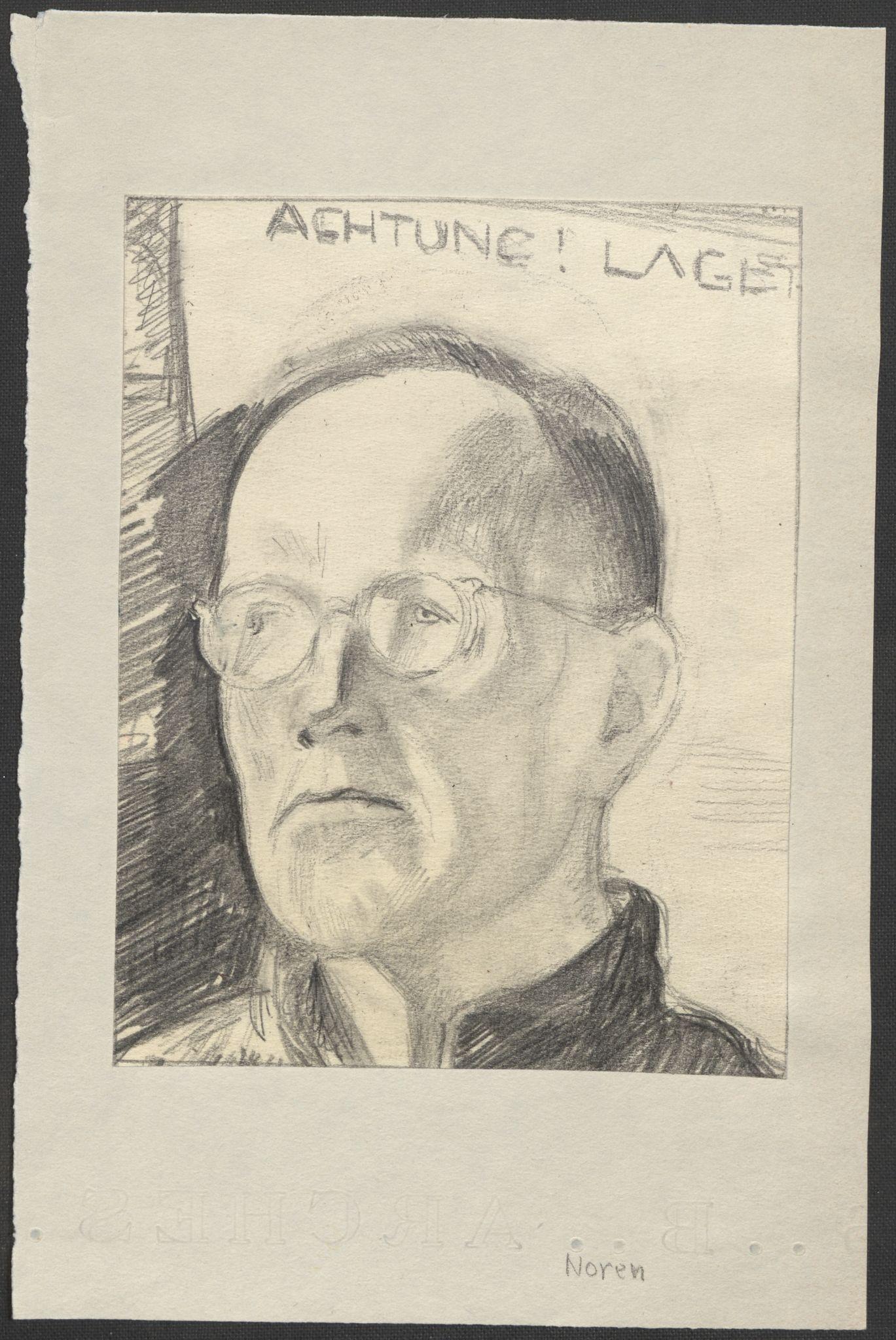 RA, Grøgaard, Joachim, F/L0002: Tegninger og tekster, 1942-1945, p. 11