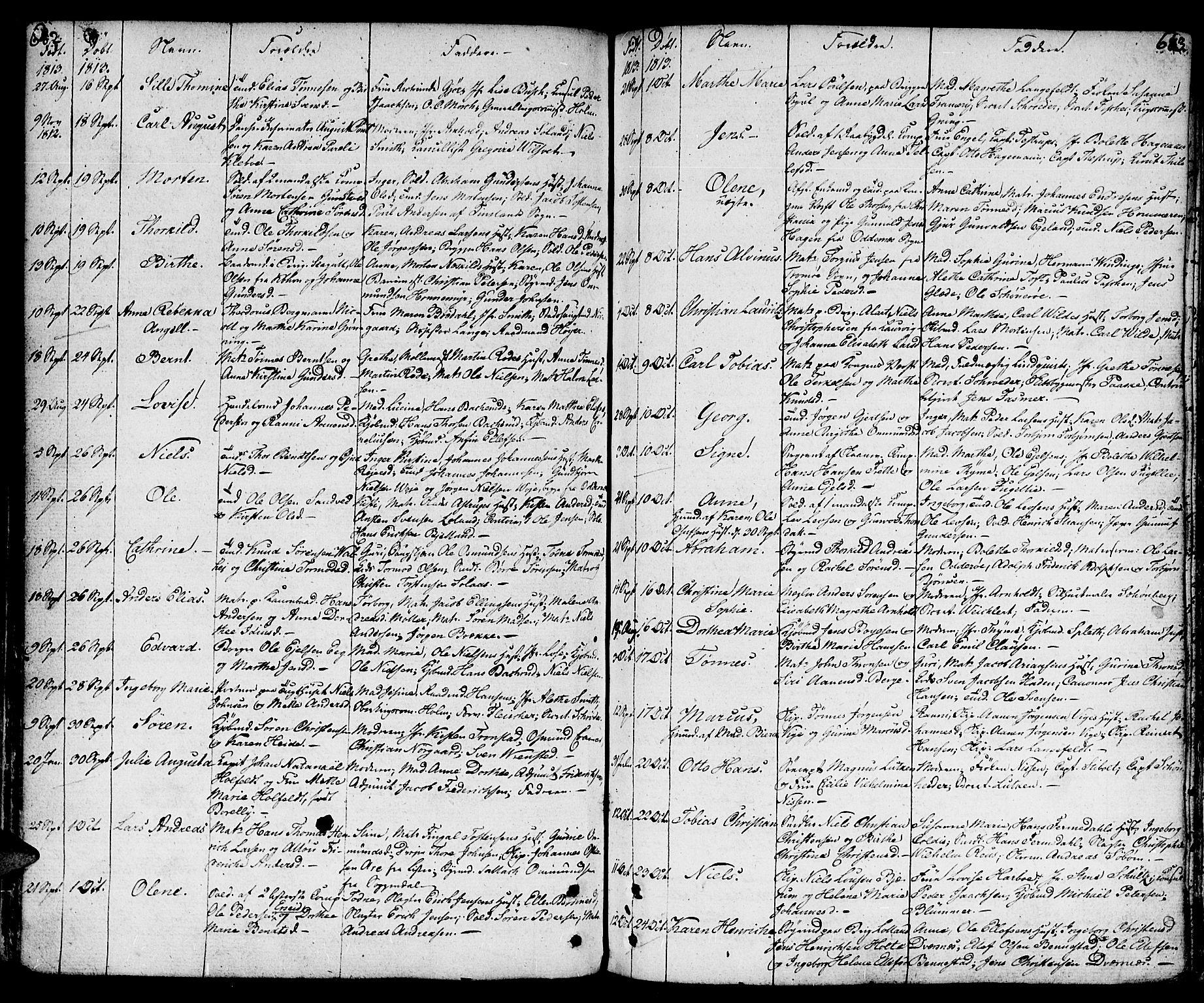 SAK, Kristiansand domprosti, F/Fa/L0003: Parish register (official) no. A 3, 1778-1818, p. 682-683