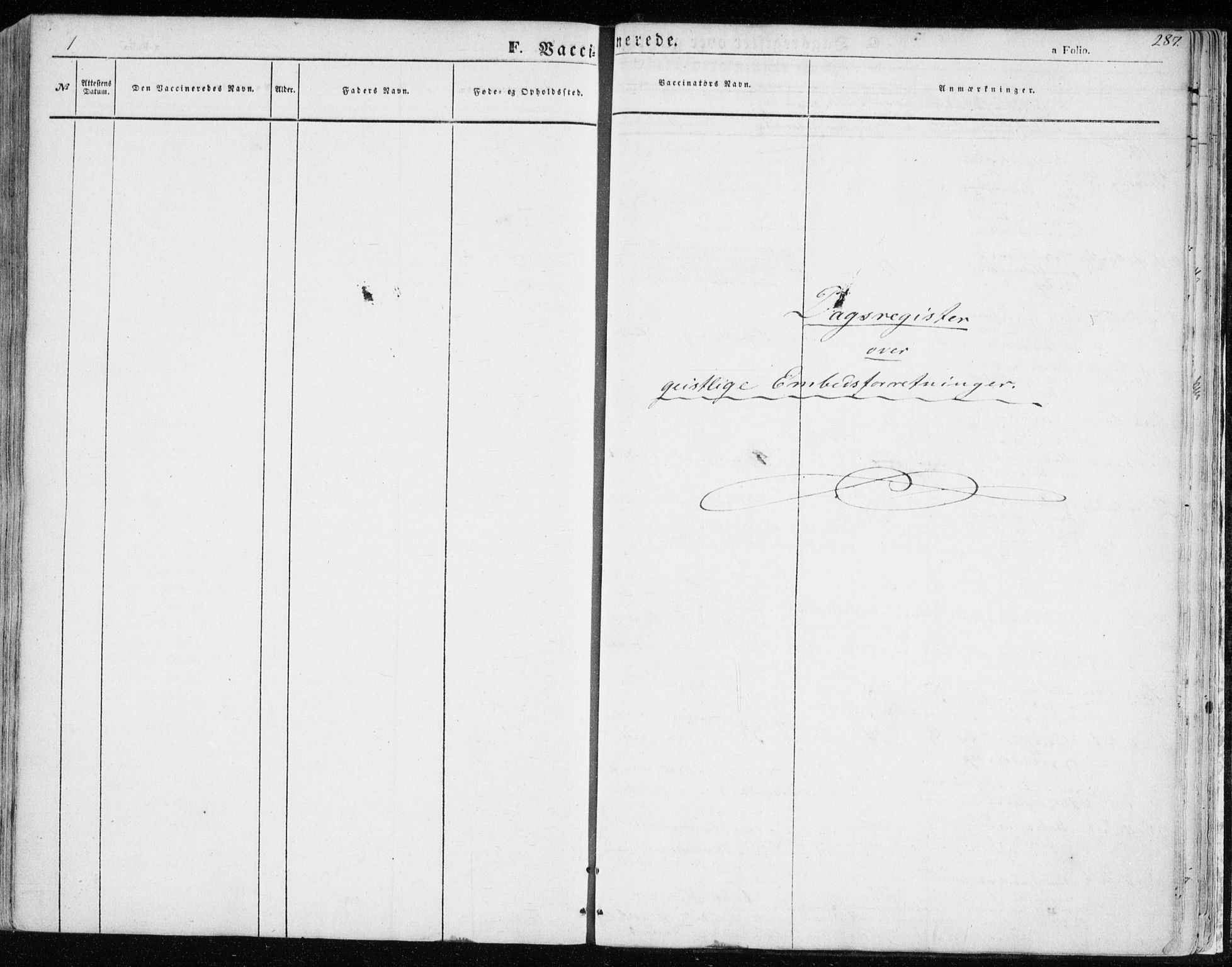 SATØ, Balsfjord sokneprestembete, Parish register (official) no. 3, 1856-1870, p. 287